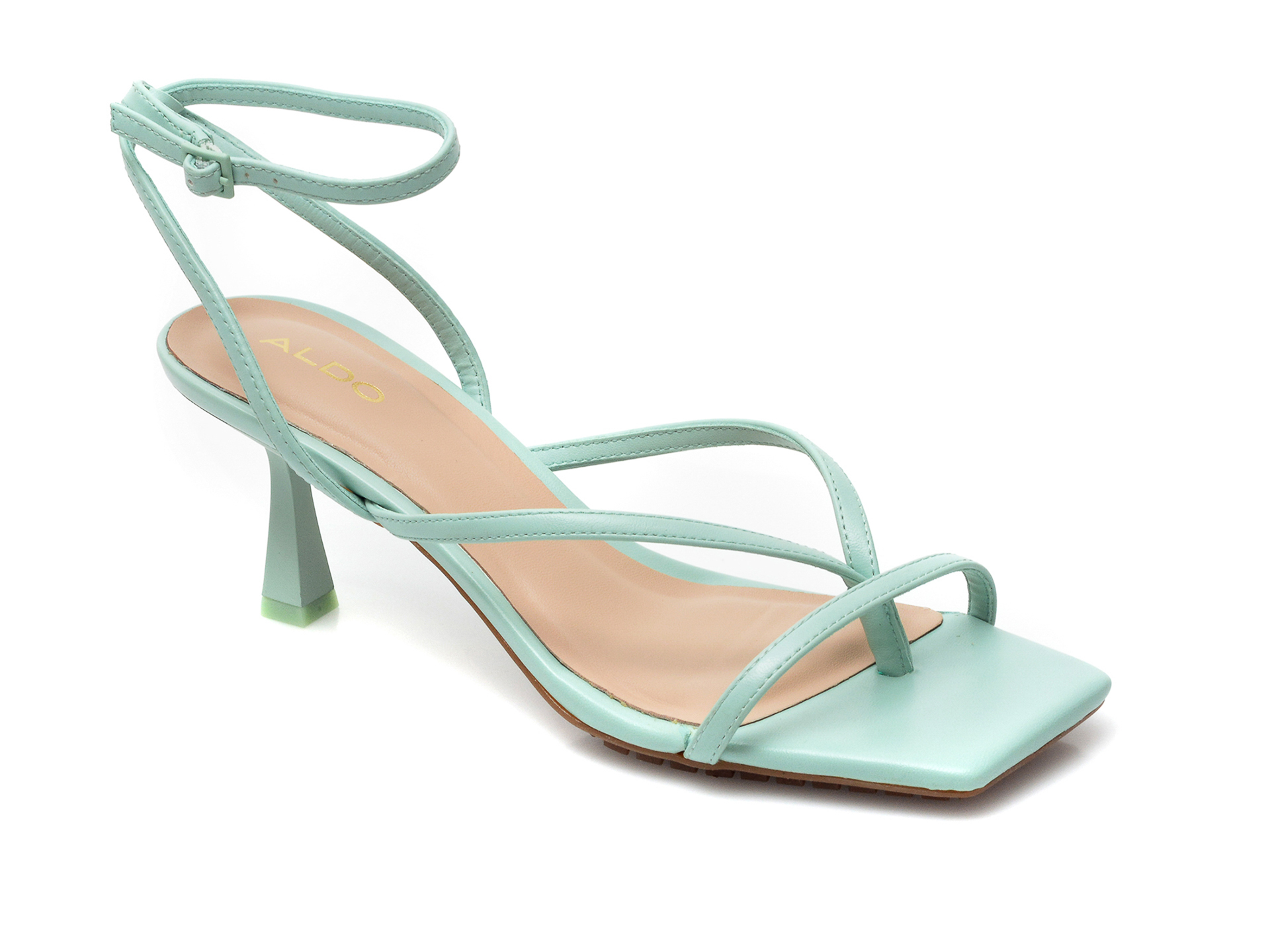 Sandale ALDO verzi, Kaviel330, din piele ecologica imagine otter.ro 2021