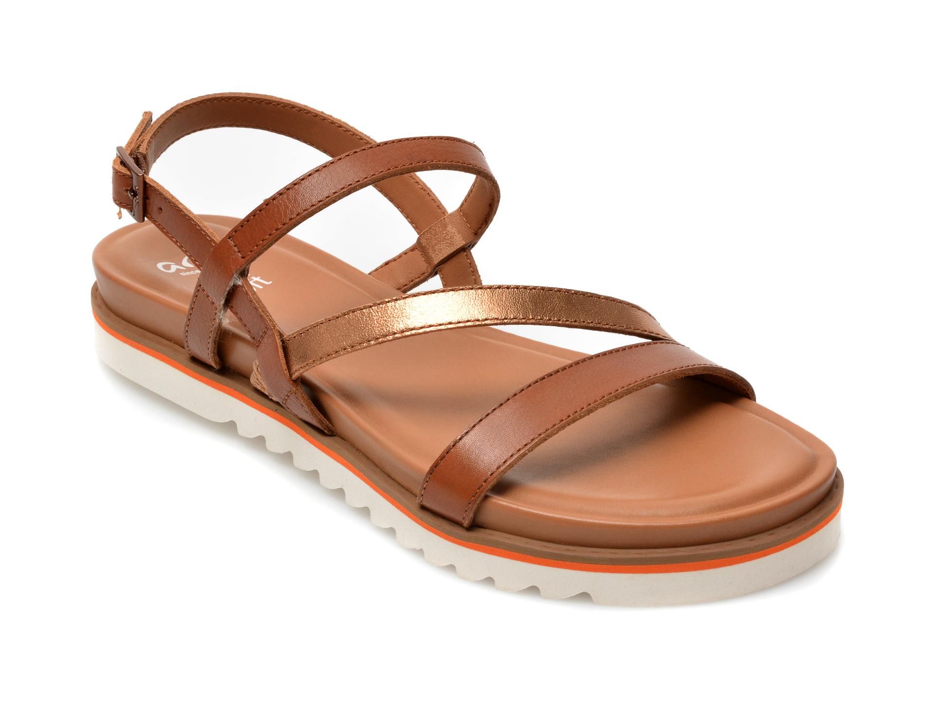 Sandale ARA bej, 28054, din piele naturala imagine otter.ro 2021