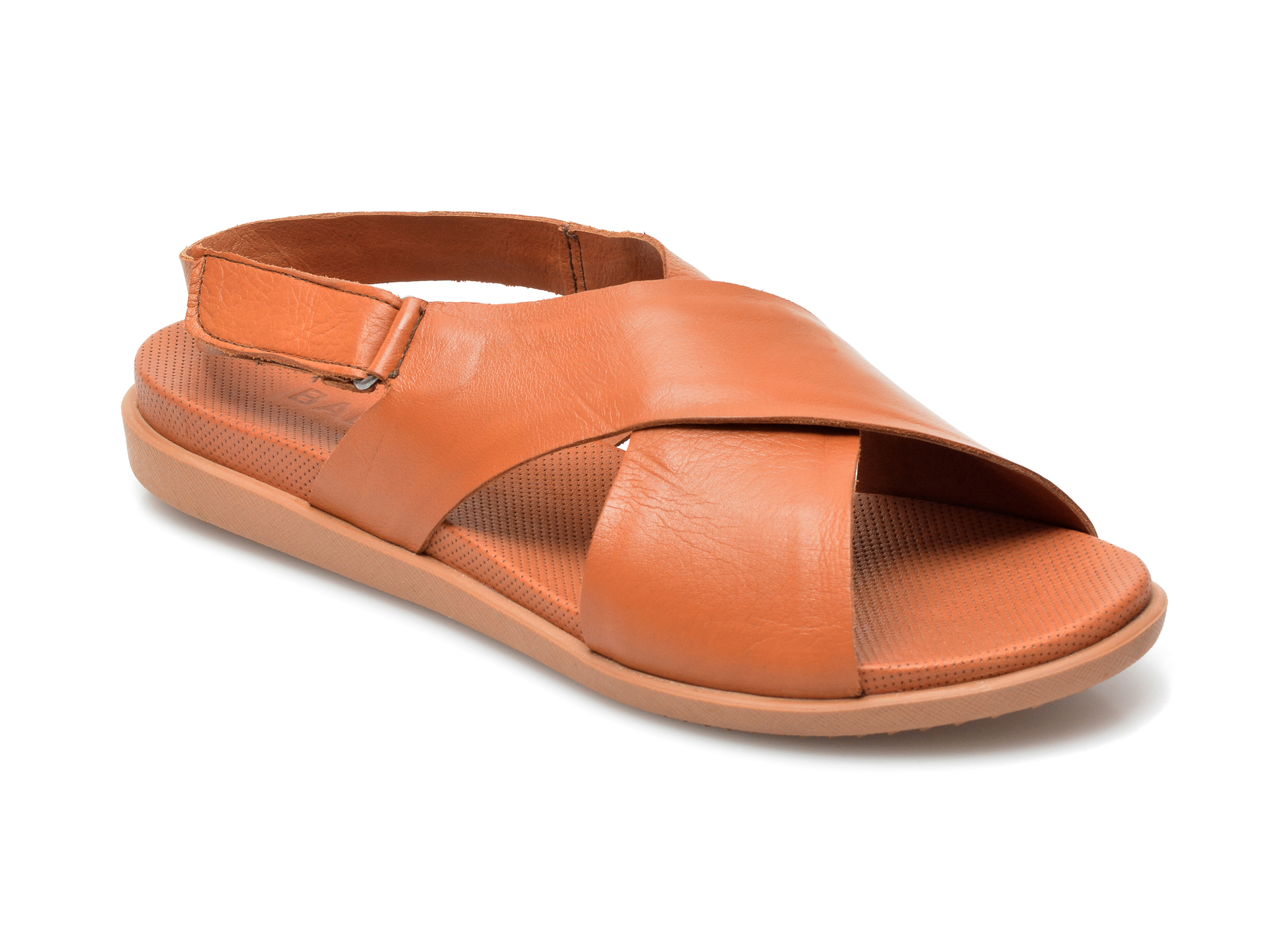 Sandale BABOOS maro, 1401, din piele naturala