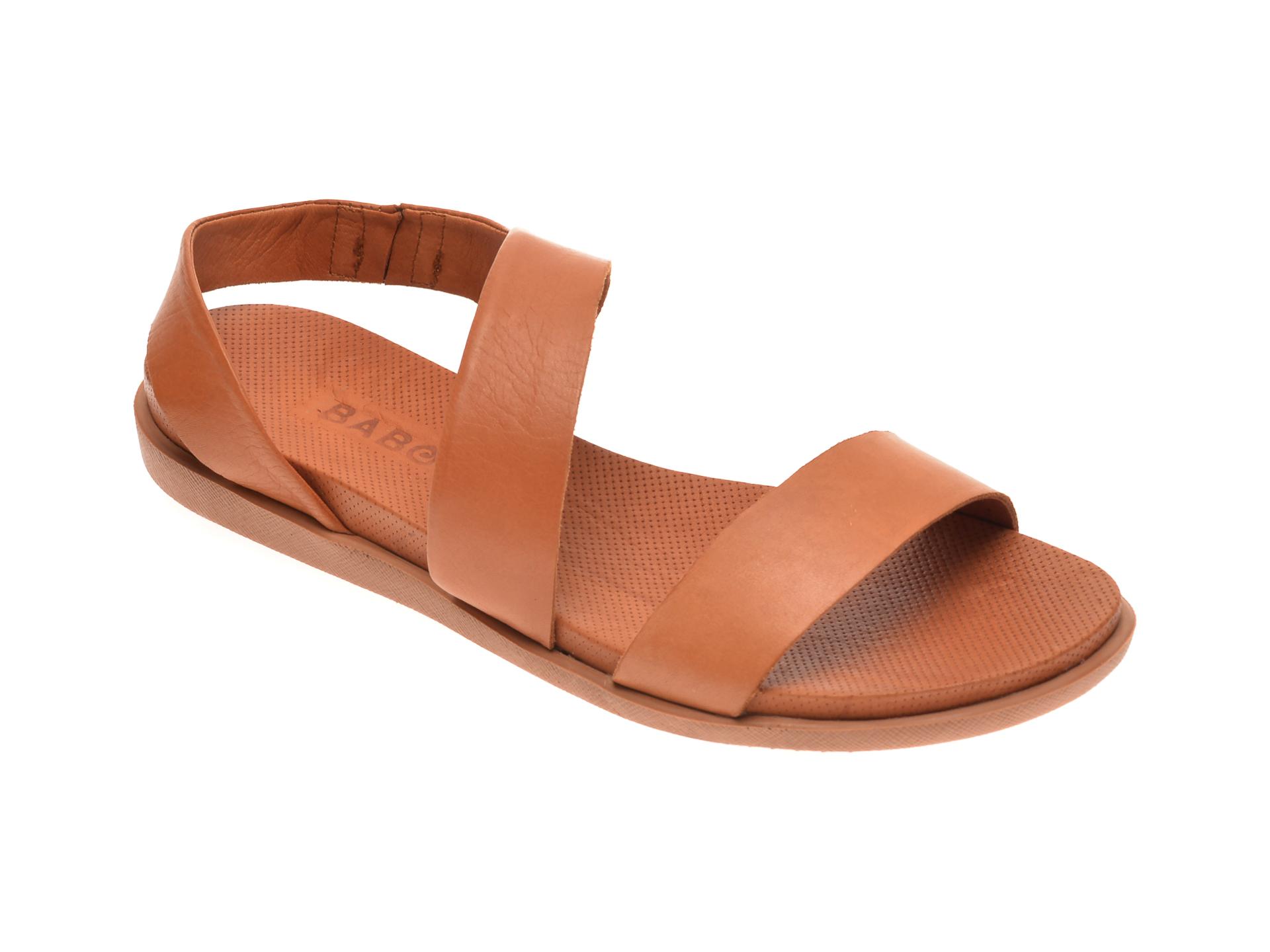 Sandale BABOOS maro, 1402, din piele naturala