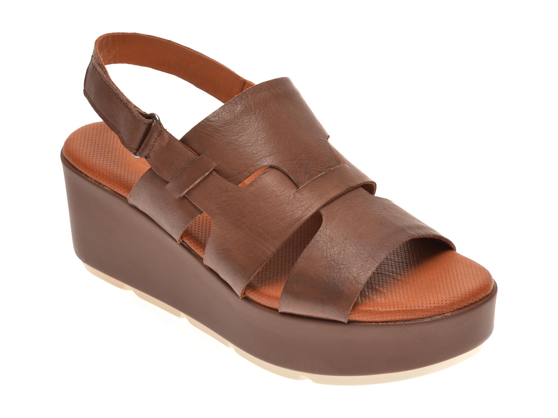 Sandale BABOOS maro, 2519, din piele naturala