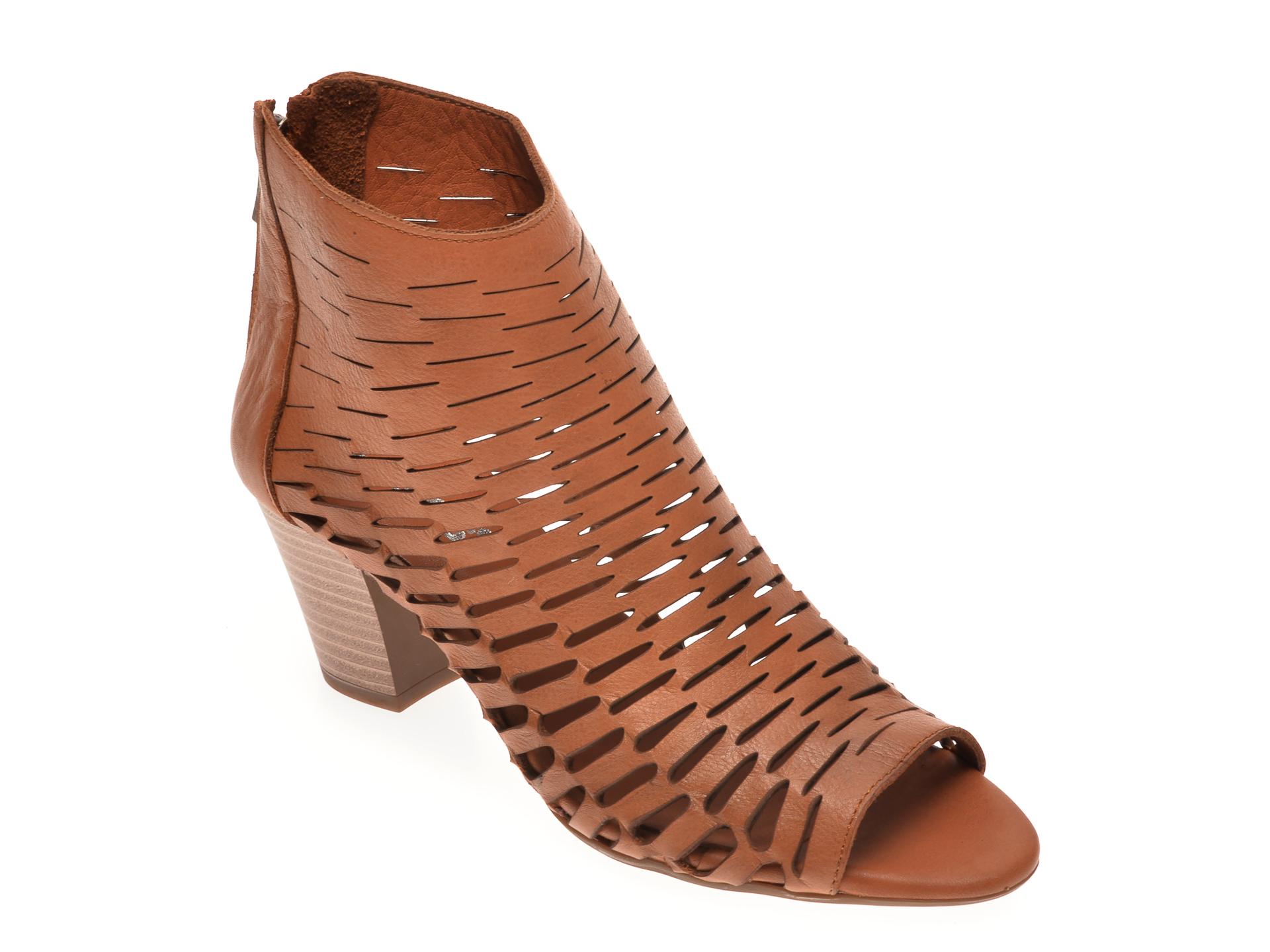 Sandale BABOOS maro, 339, din piele naturala imagine otter.ro 2021