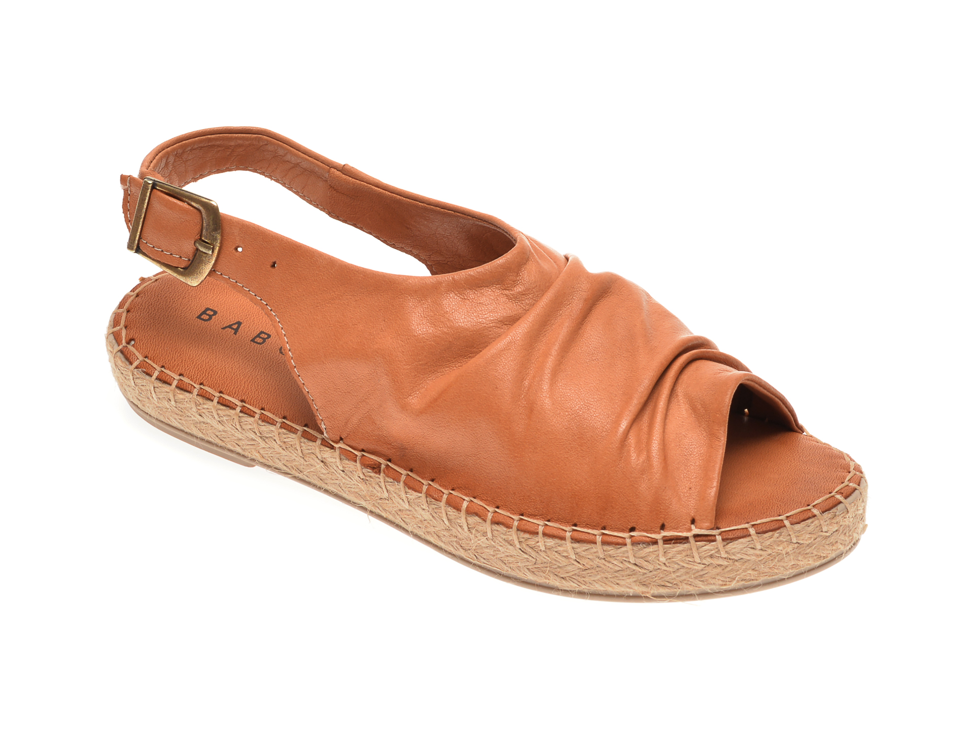 Sandale BABOOS maro, R06, din piele naturala