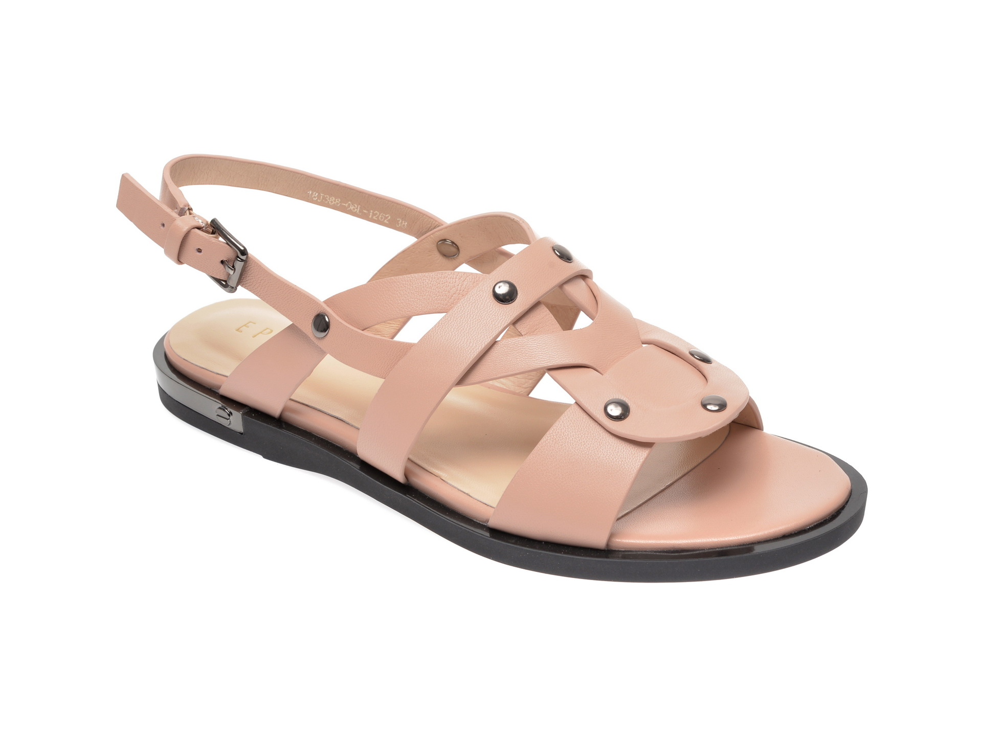 Sandale EPICA bej, 18J3880, din piele naturala