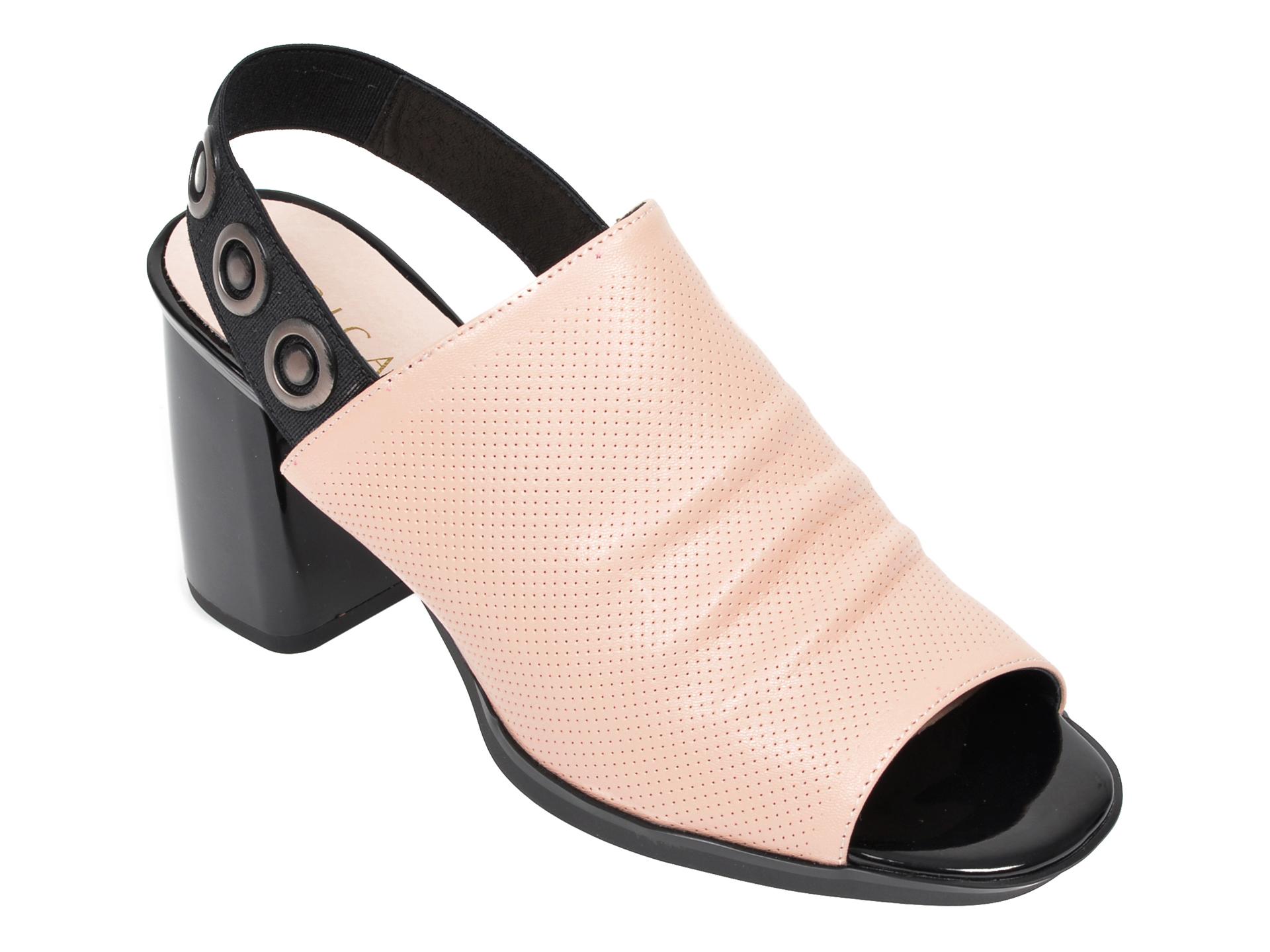 Sandale EPICA bej, 9K245HR, din piele naturala