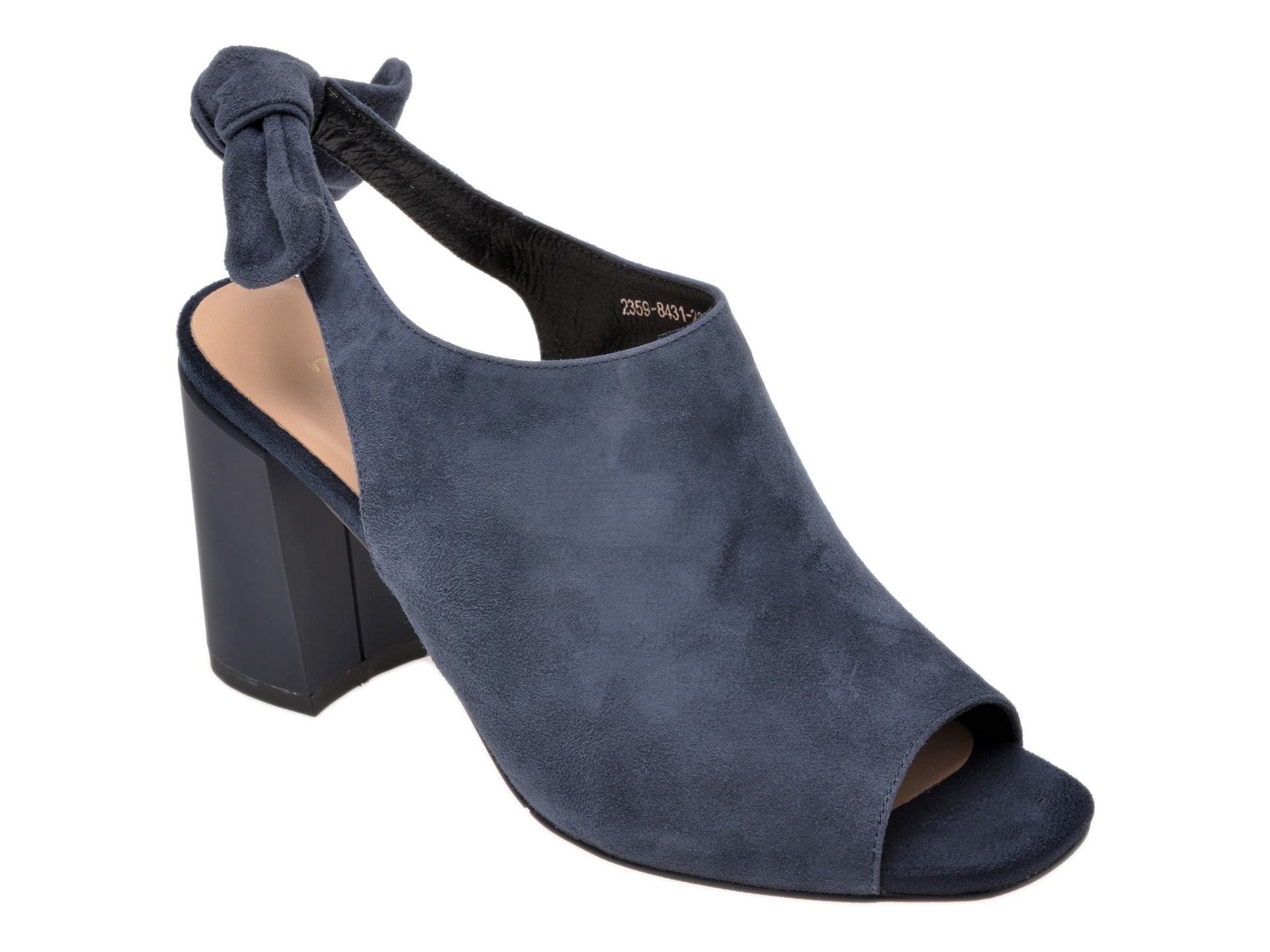 Sandale EPICA bleumarin, 2359843, din piele intoarsa