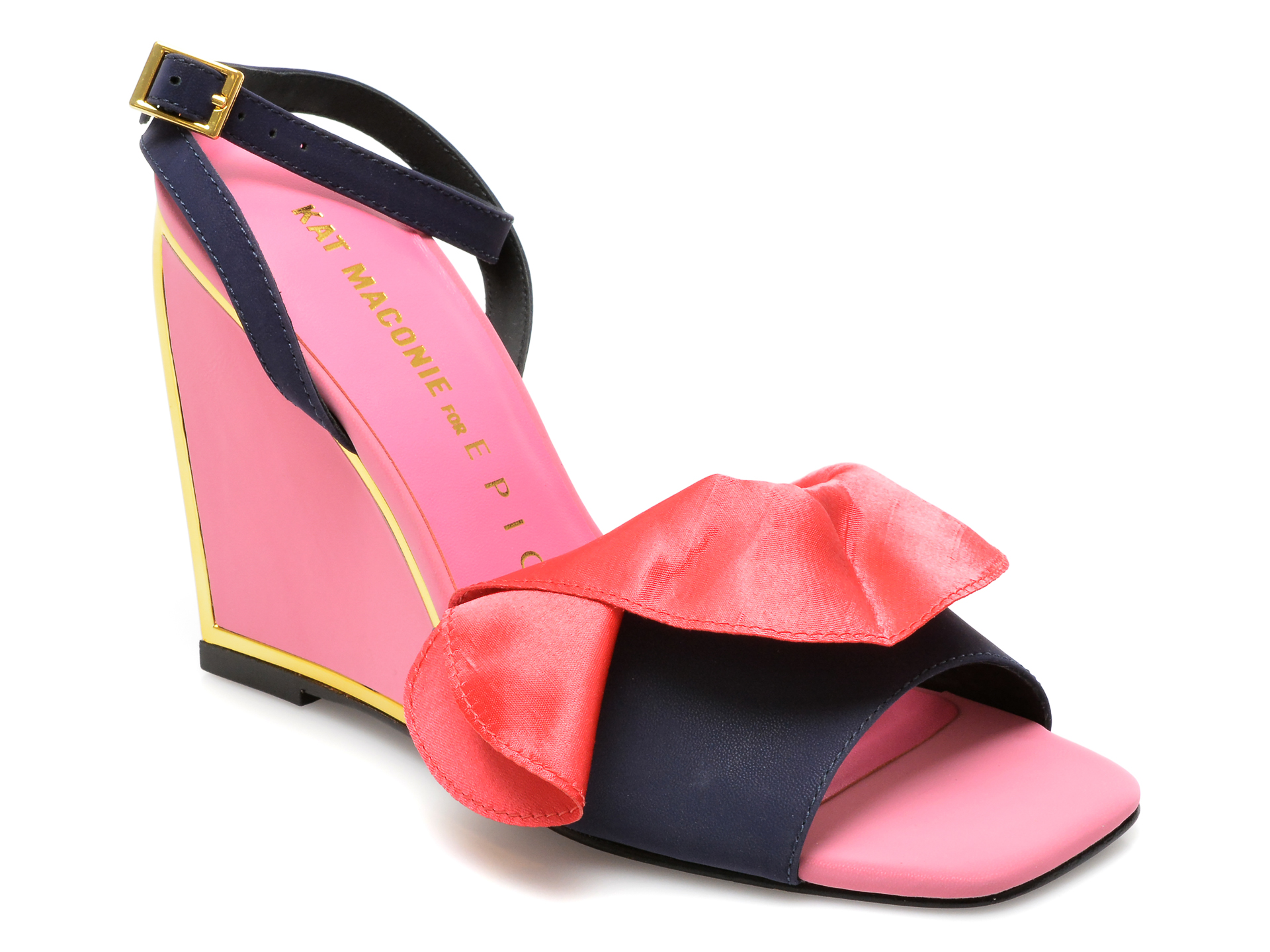 Sandale KAT MACONIE roz, RUBY, din piele naturala