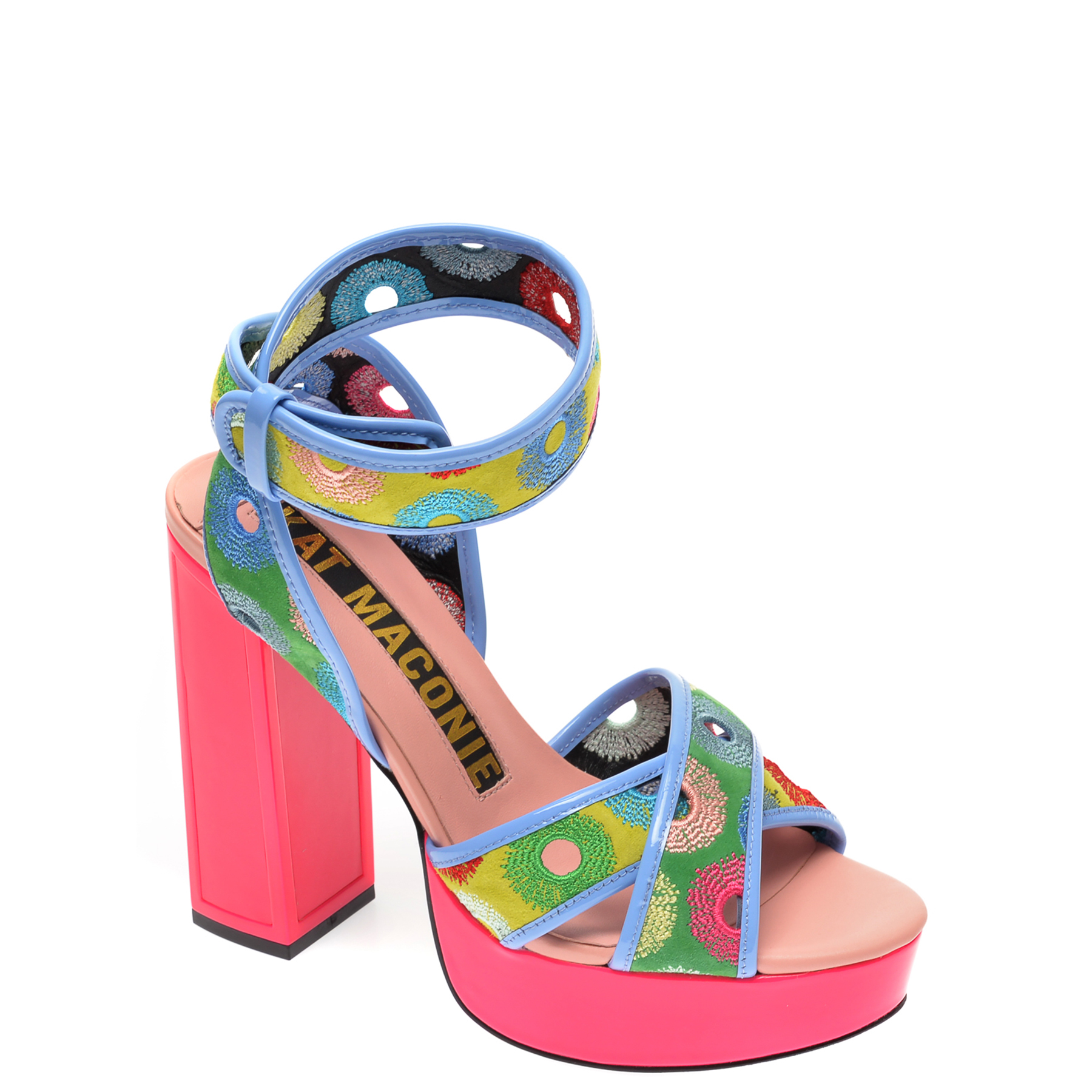 Sandale EPICA multicolor, CHARLIE, din piele naturala