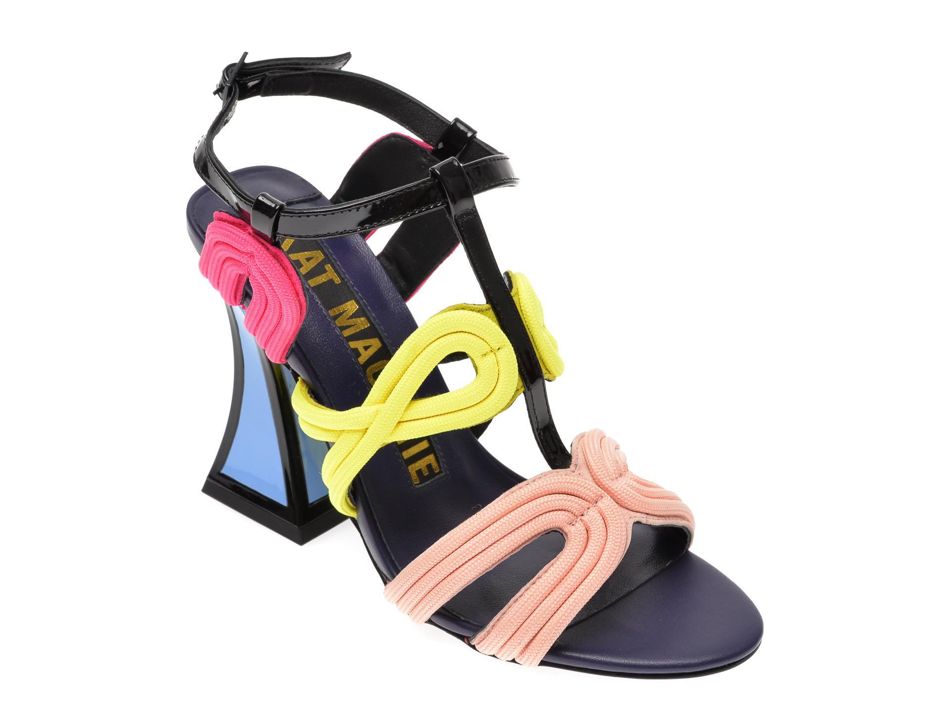 Sandale EPICA multicolor, SISSY, din piele naturala New