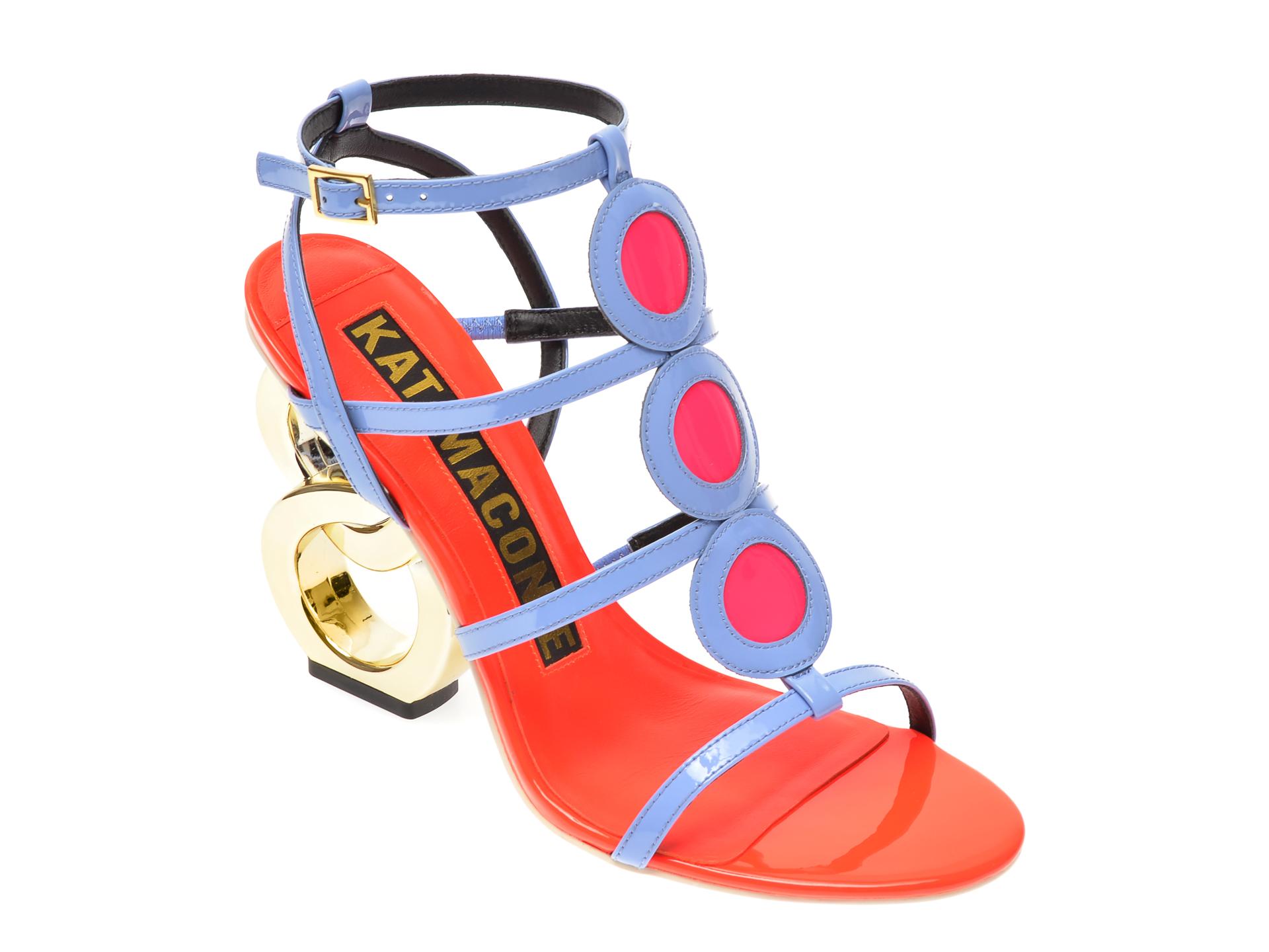 Sandale EPICA multicolor, TEZYO, din piele naturala New