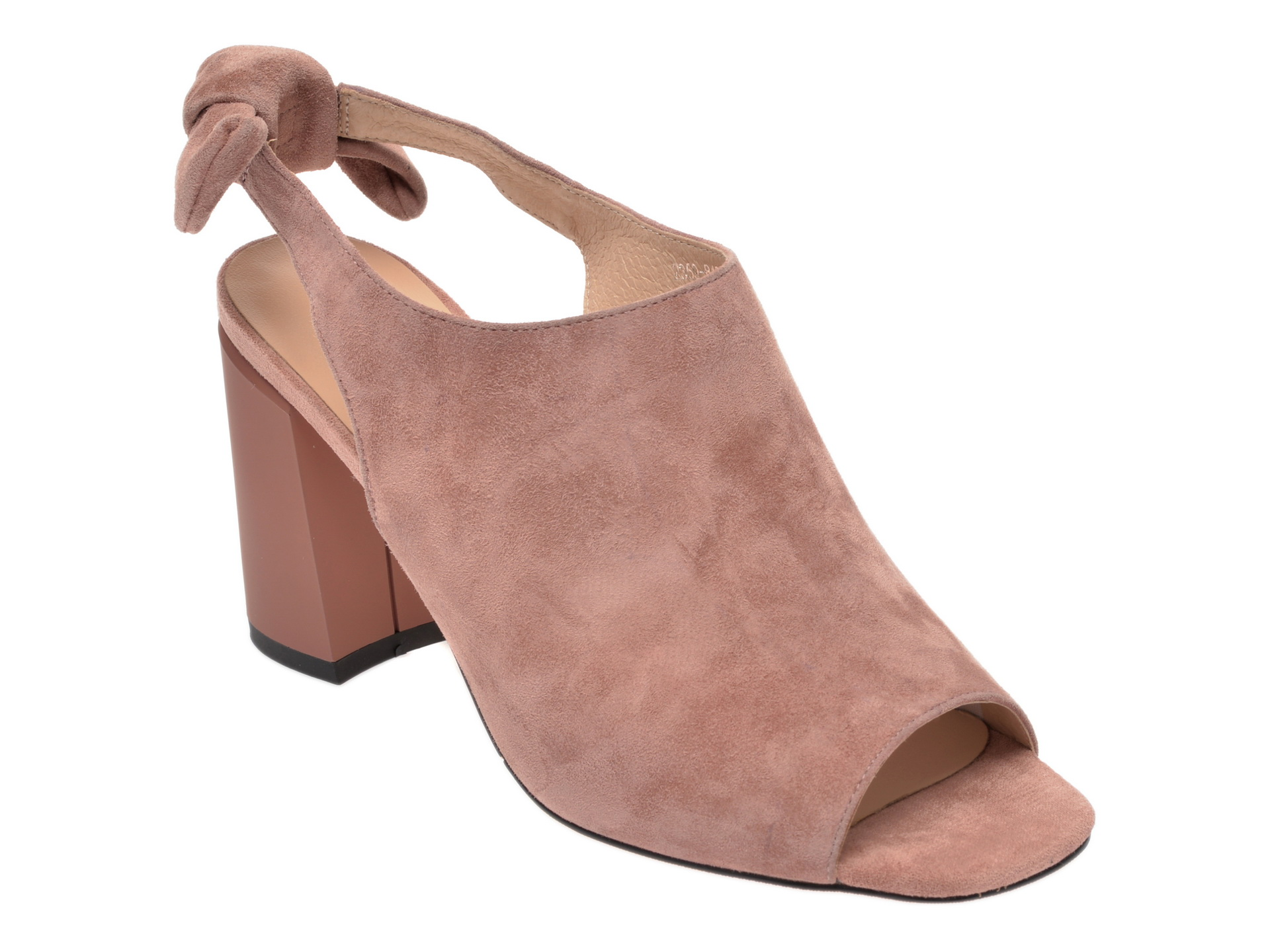 Sandale EPICA roz, 2359843, din piele intoarsa