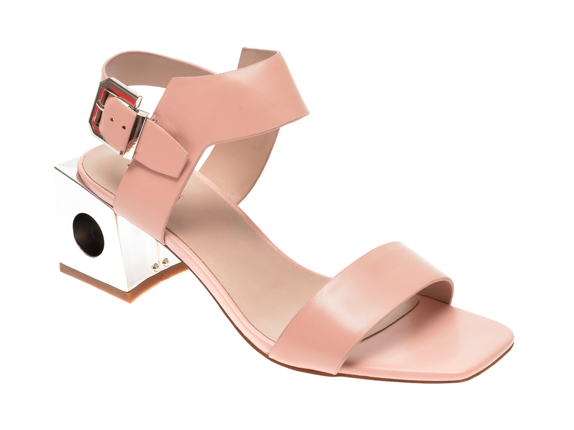 Sandale EPICA roz, 6505053, din piele naturala