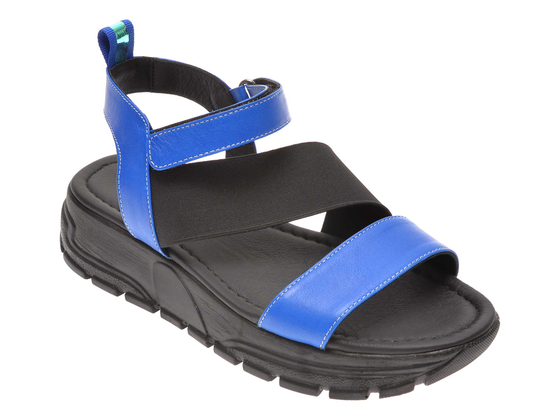 Sandale FLAVIA PASSINI albastre, 0021671, din piele naturala