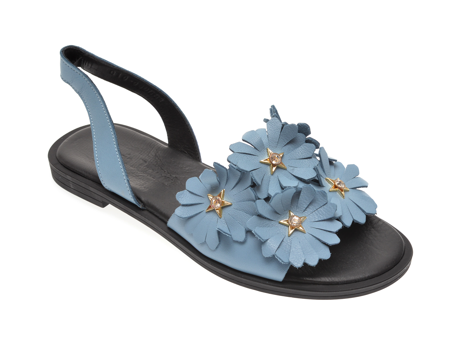 Sandale FLAVIA PASSINI albastre, 060631, din piele naturala