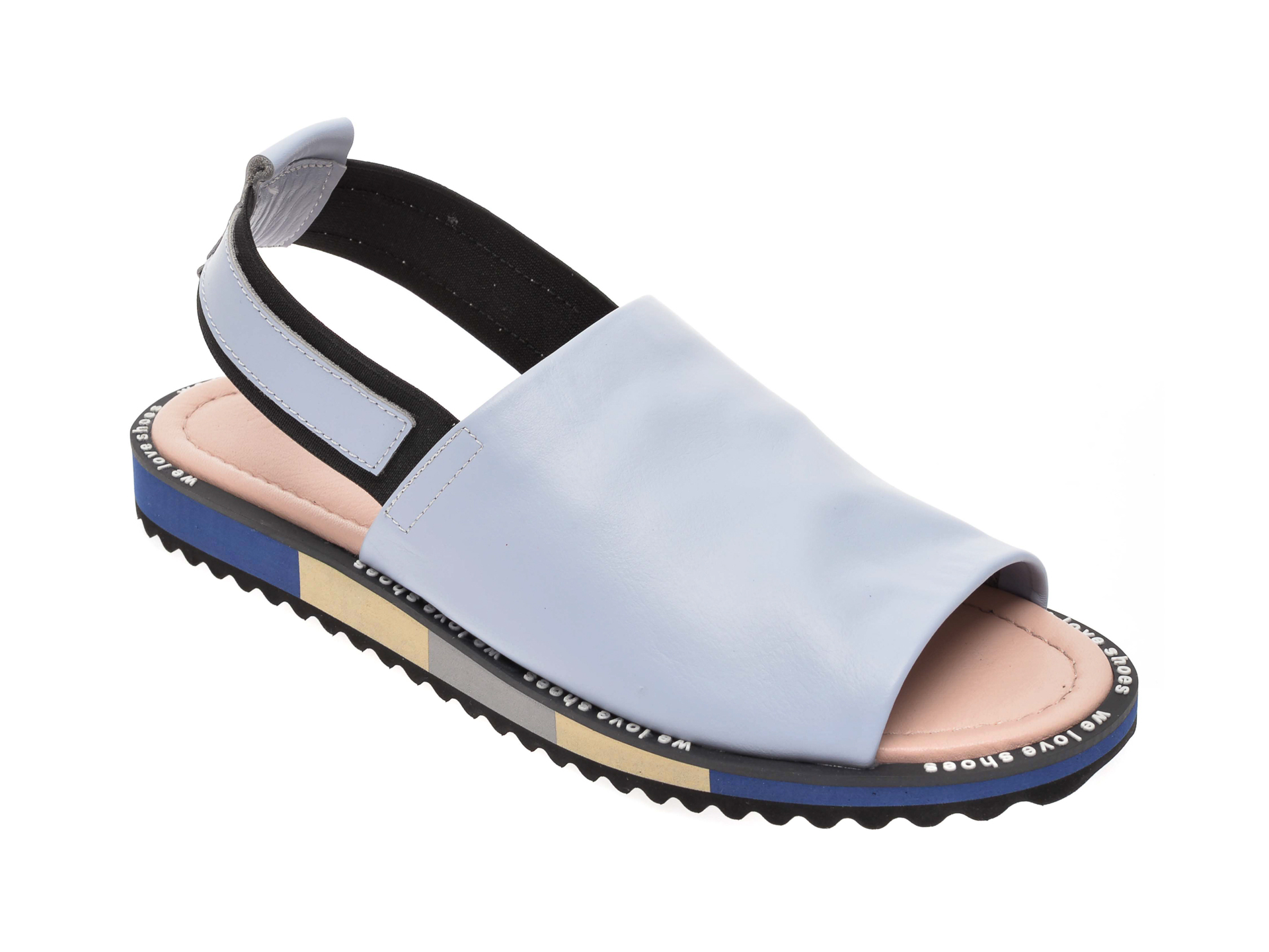 Sandale FLAVIA PASSINI albastre, 088EY06, din piele naturala