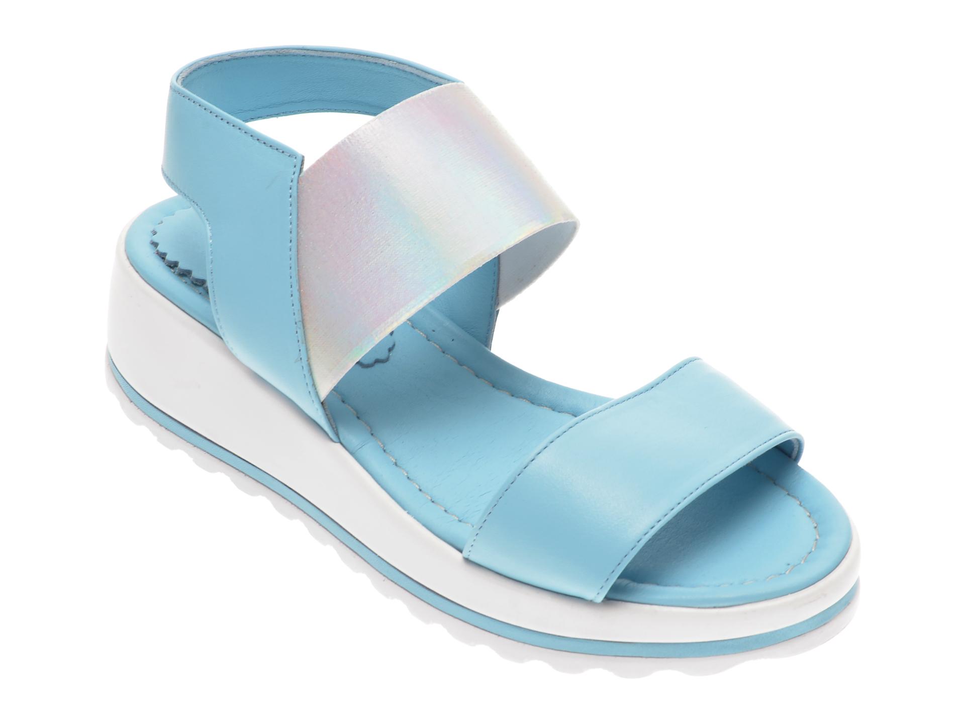 Sandale FLAVIA PASSINI albastre, 125971, din piele naturala
