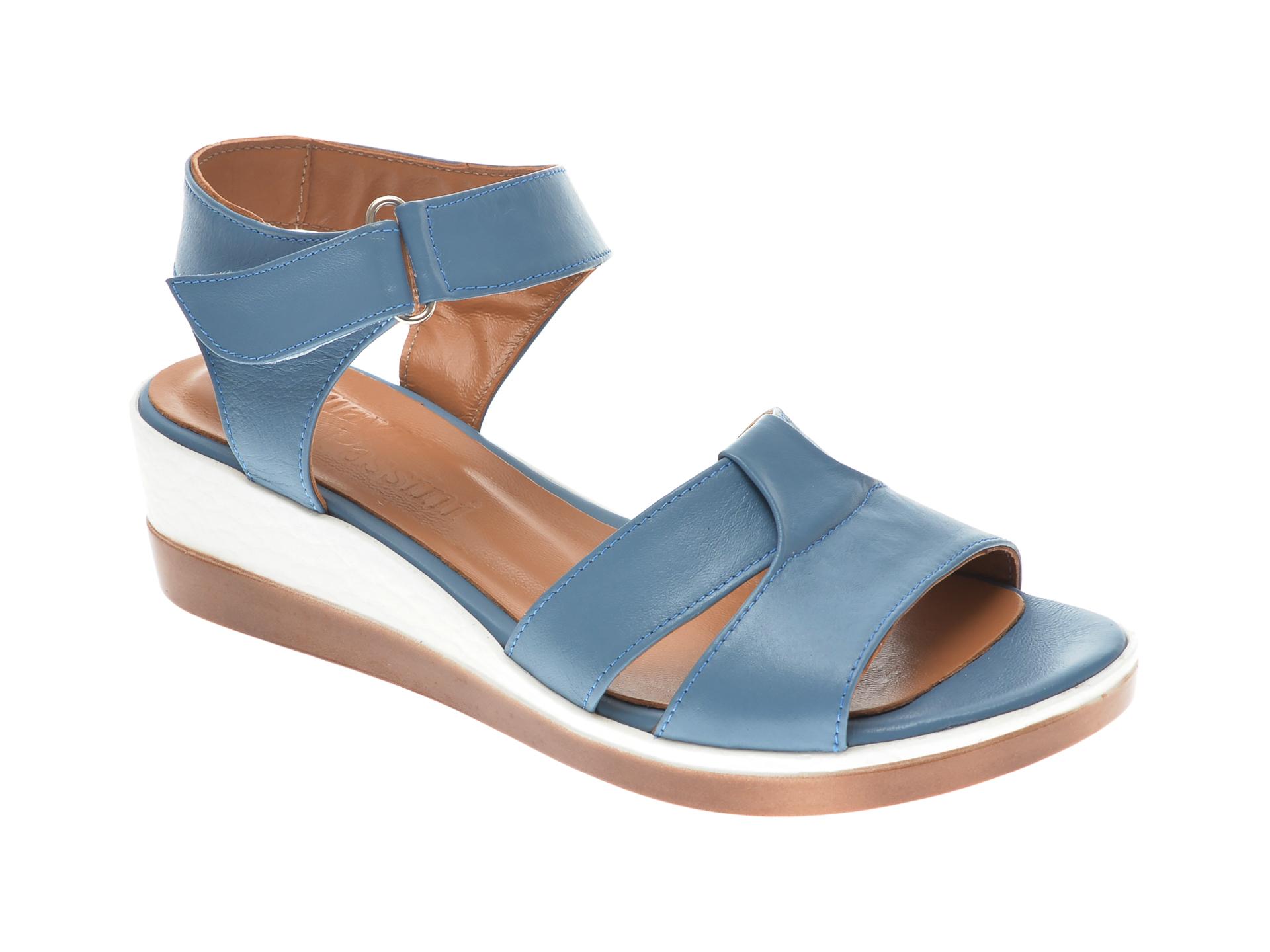 Sandale FLAVIA PASSINI albastre, 20705, din piele naturala New
