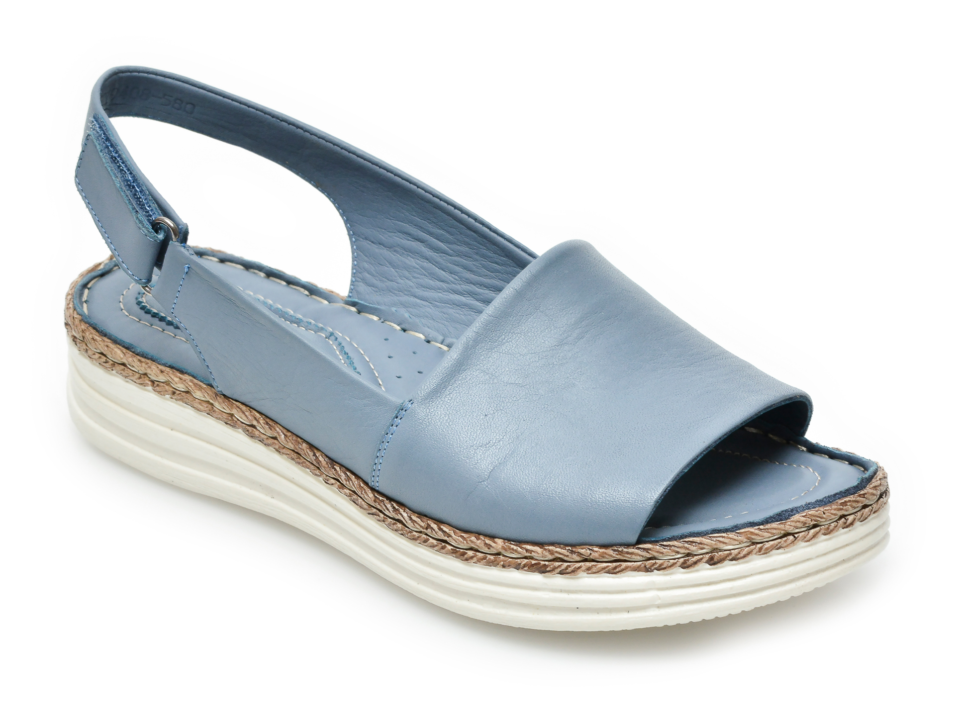 Sandale FLAVIA PASSINI albastre, 9408580, din piele naturala imagine otter.ro 2021
