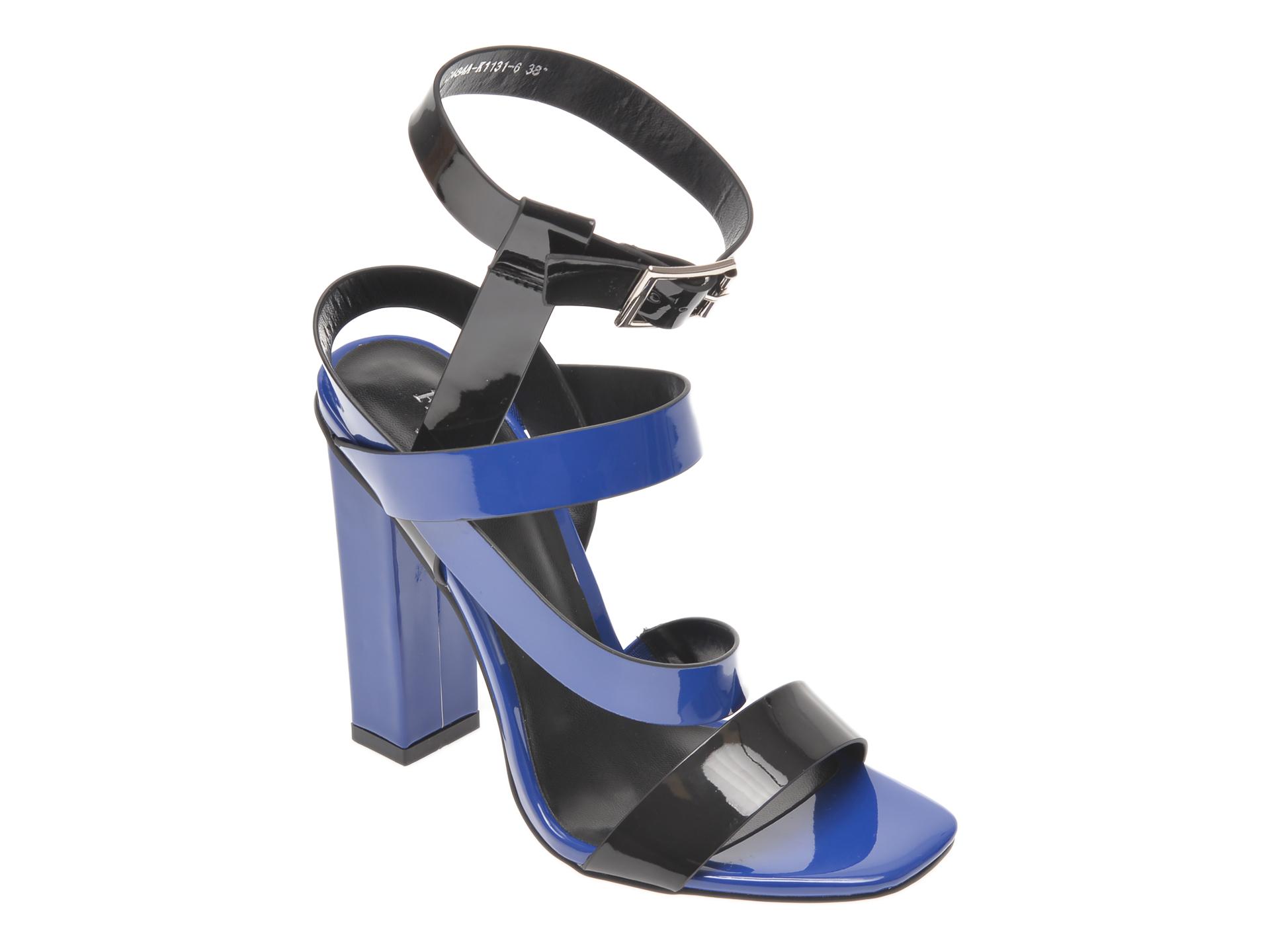 Sandale FLAVIA PASSINI albastre, C484AK1, din piele ecologica imagine