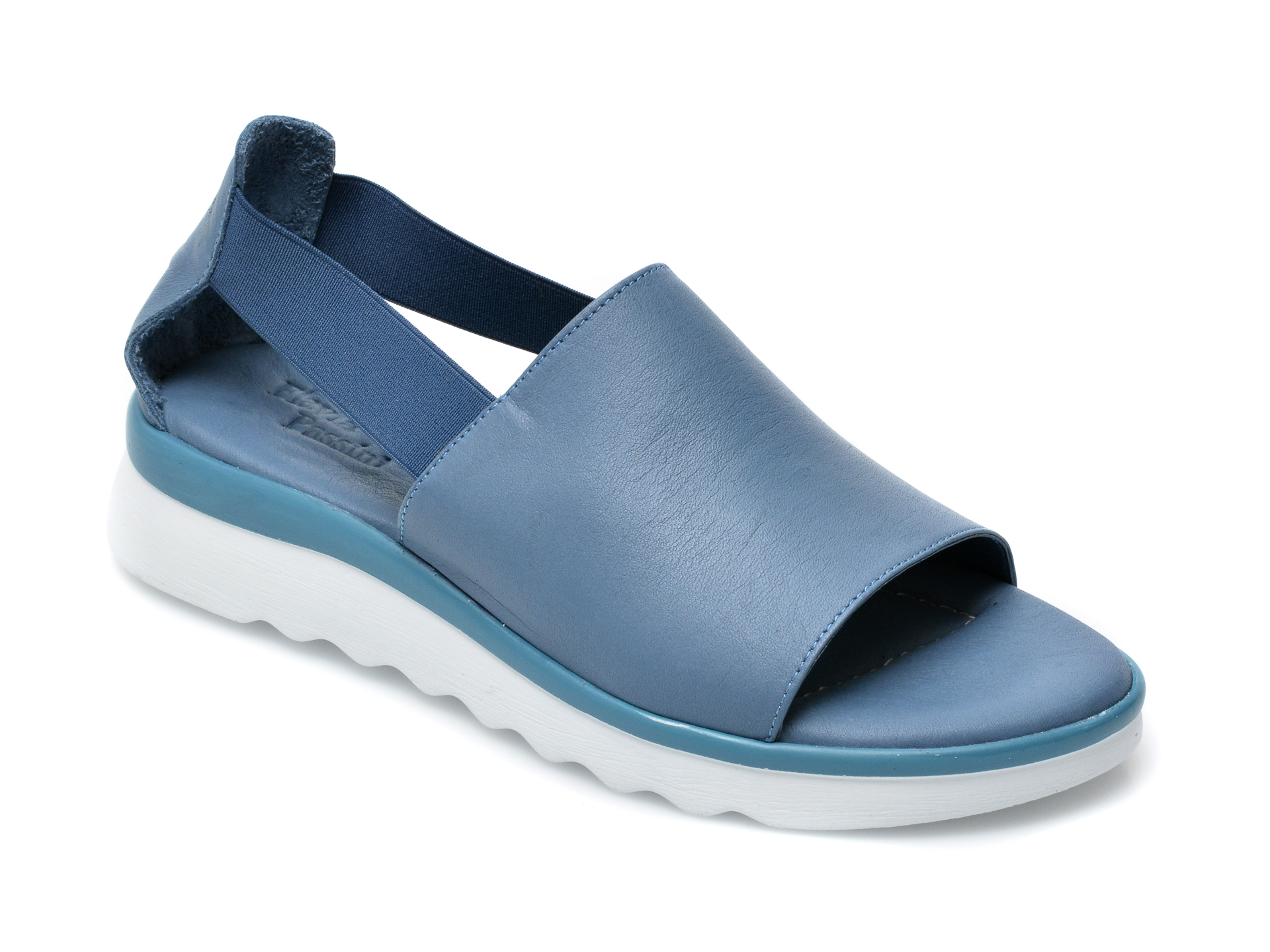 Sandale FLAVIA PASSINI albastre, EI24501, din piele naturala imagine otter.ro 2021