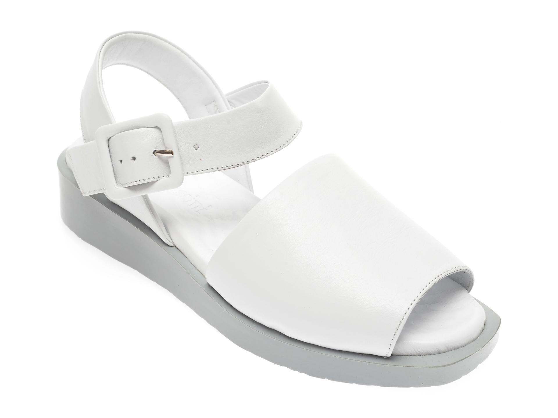 Sandale FLAVIA PASSINI albe, 1582020, din piele naturala