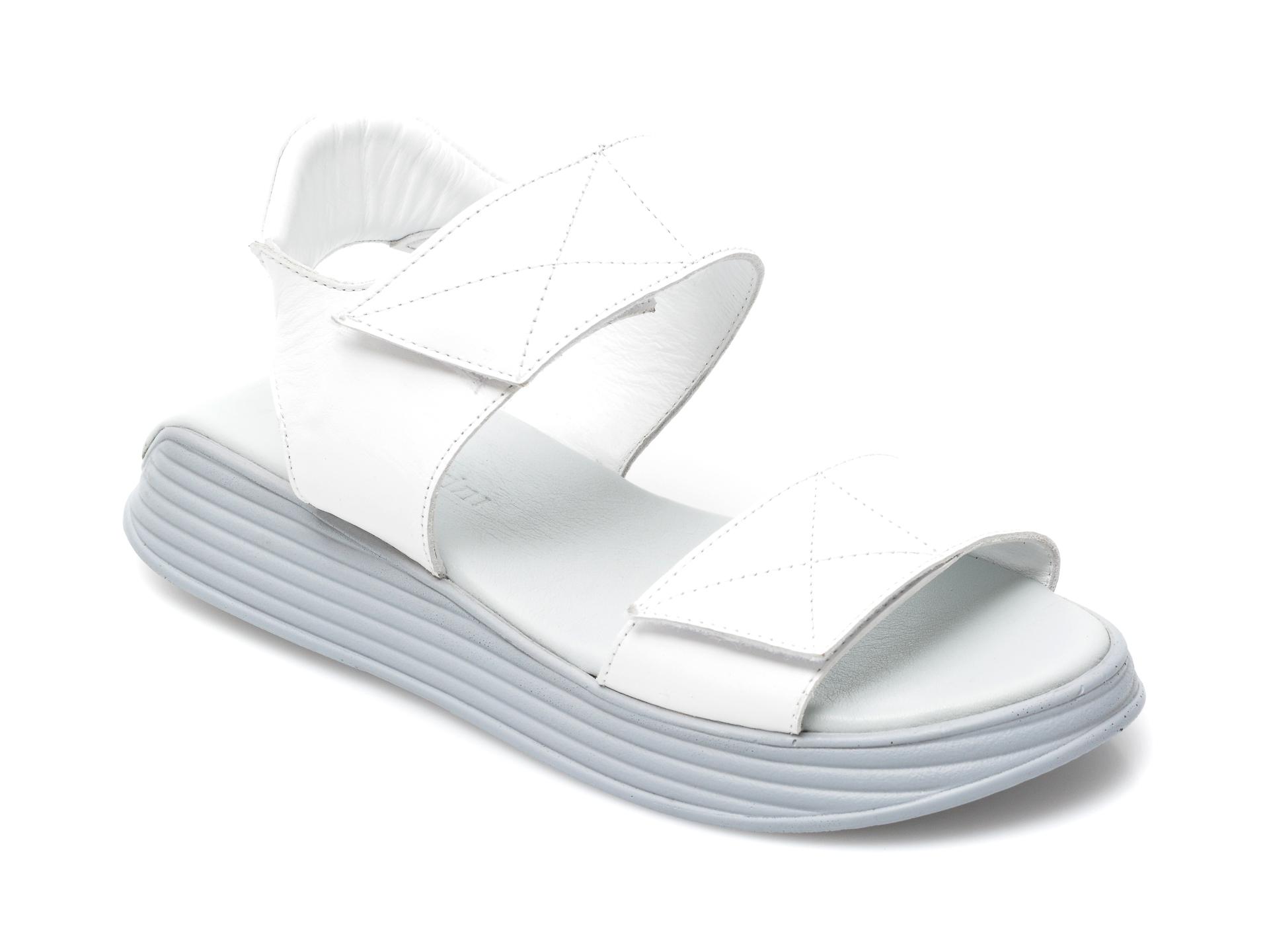 Sandale FLAVIA PASSINI albe, 3879151, din piele naturala imagine otter.ro 2021