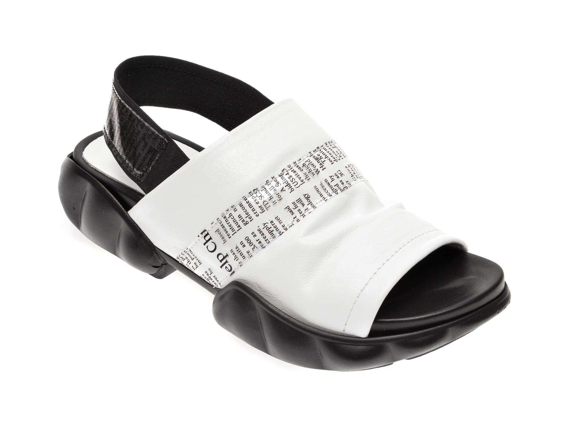 Sandale FLAVIA PASSINI albe, 6292226, din piele naturala