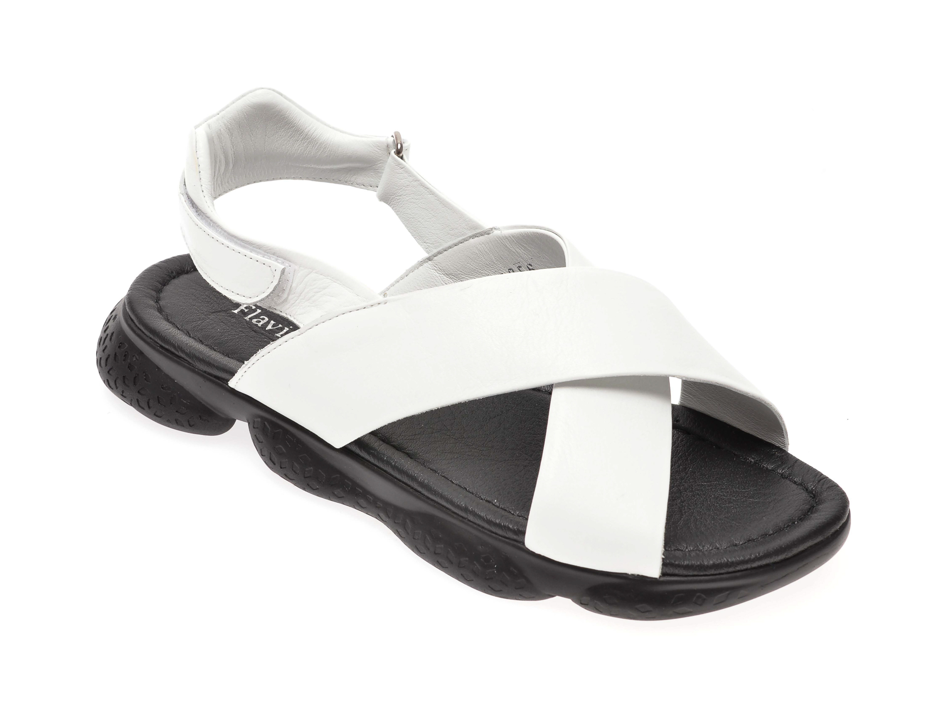 Sandale FLAVIA PASSINI albe, 8285856, din piele naturala