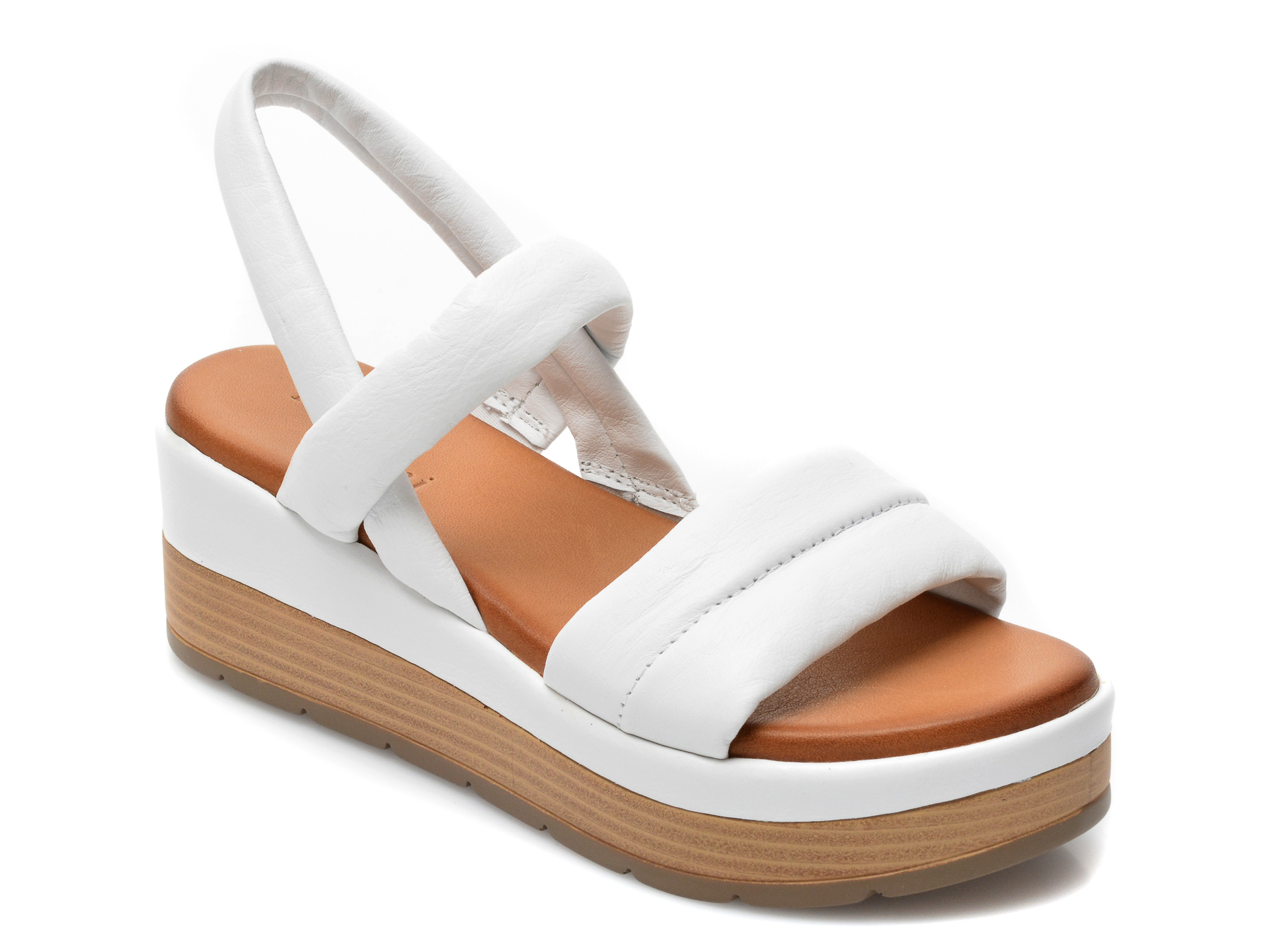 Sandale FLAVIA PASSINI albe, ES3012, din piele naturala imagine otter.ro 2021