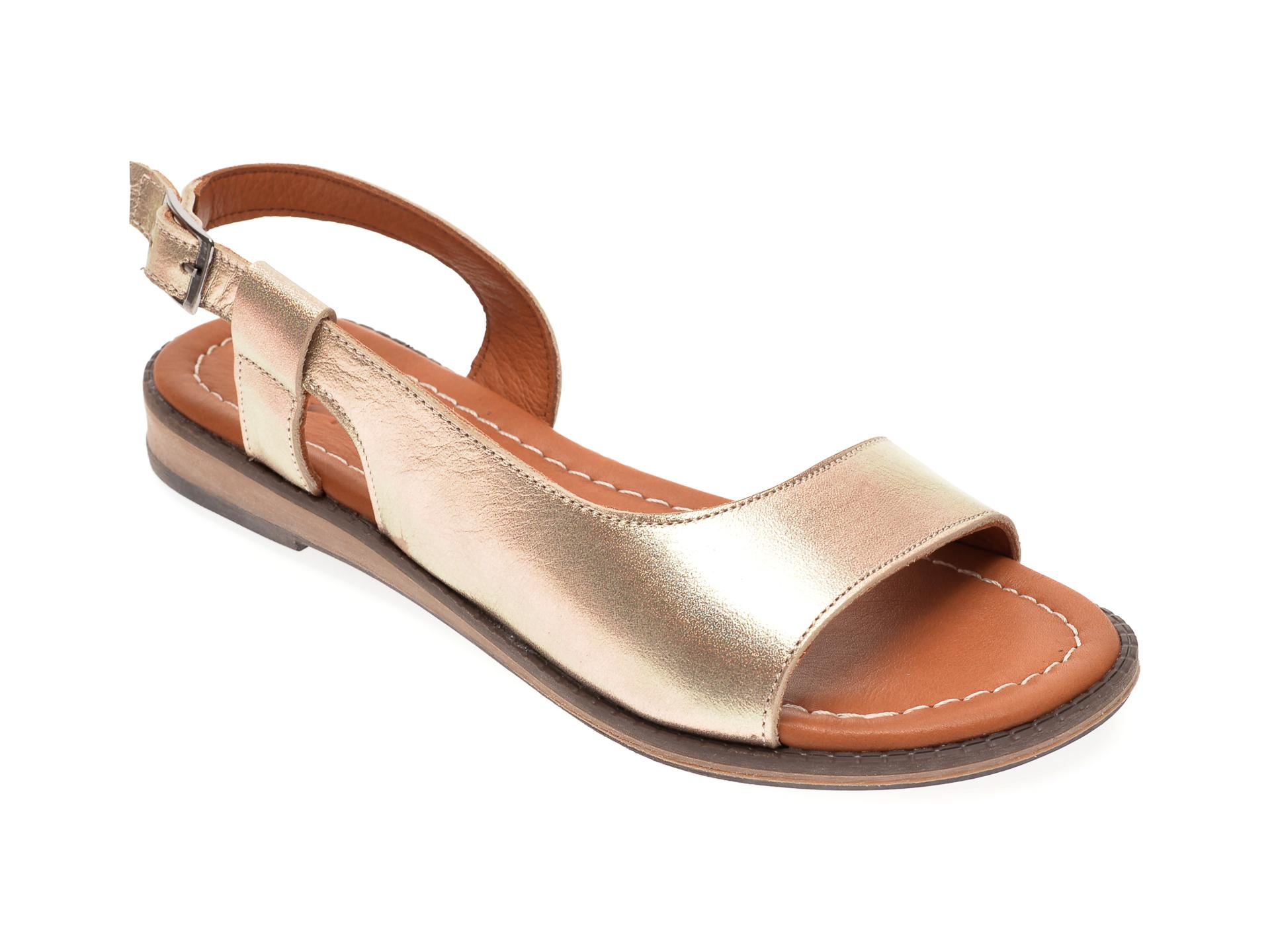 Sandale FLAVIA PASSINI auriu, 021, din piele naturala New
