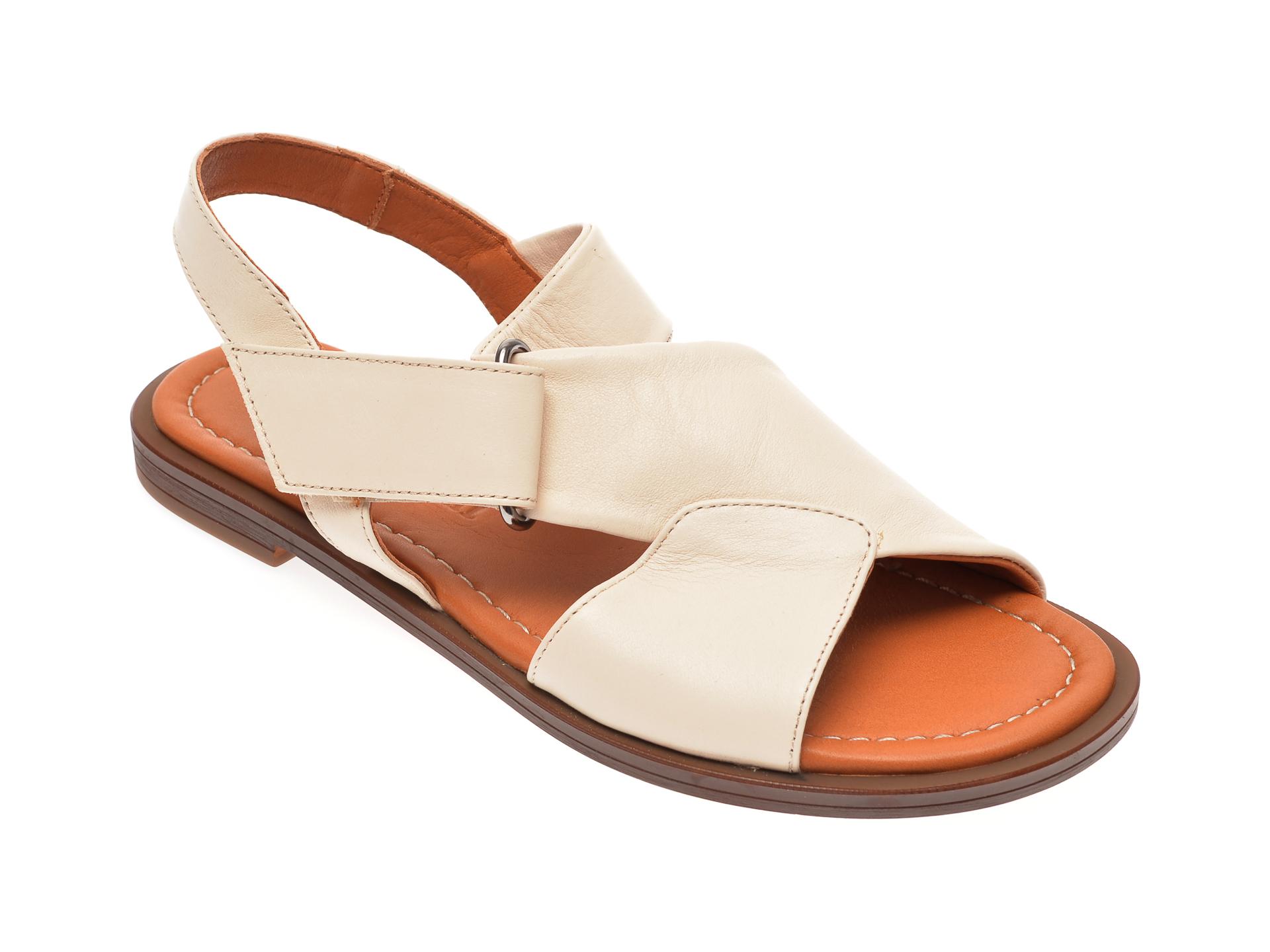 Sandale FLAVIA PASSINI bej, 0021673, din piele naturala