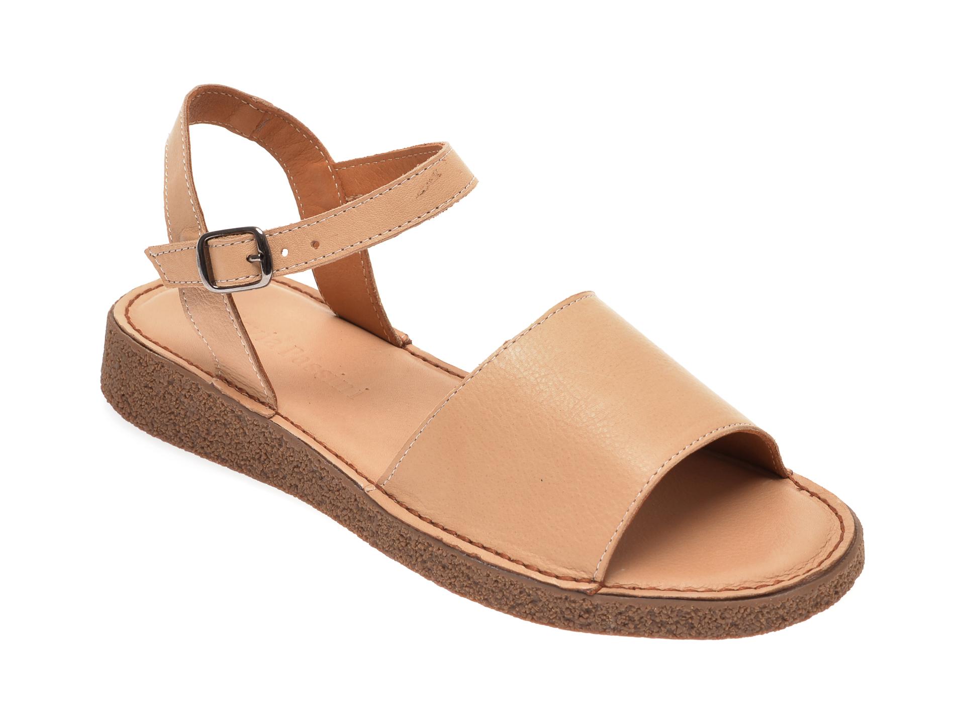 Sandale FLAVIA PASSINI bej, 0761461, din piele naturala imagine