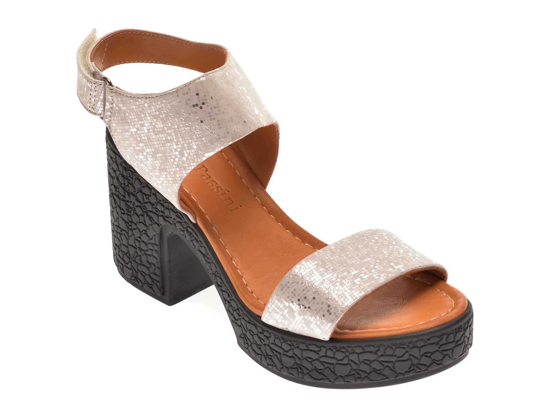 Sandale FLAVIA PASSINI bej, 1181335, din piele naturala