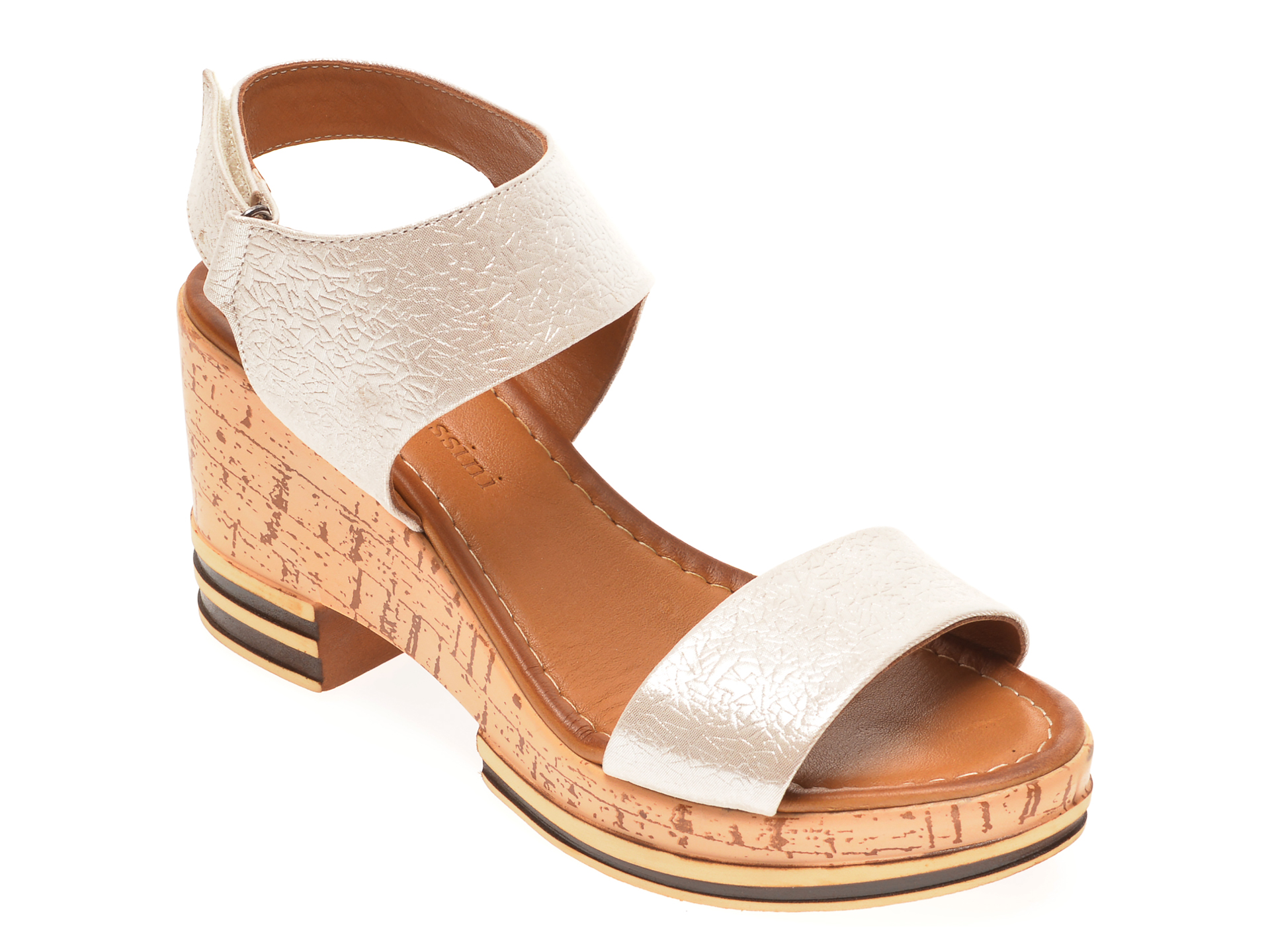 Sandale FLAVIA PASSINI bej, 1182725, din piele naturala
