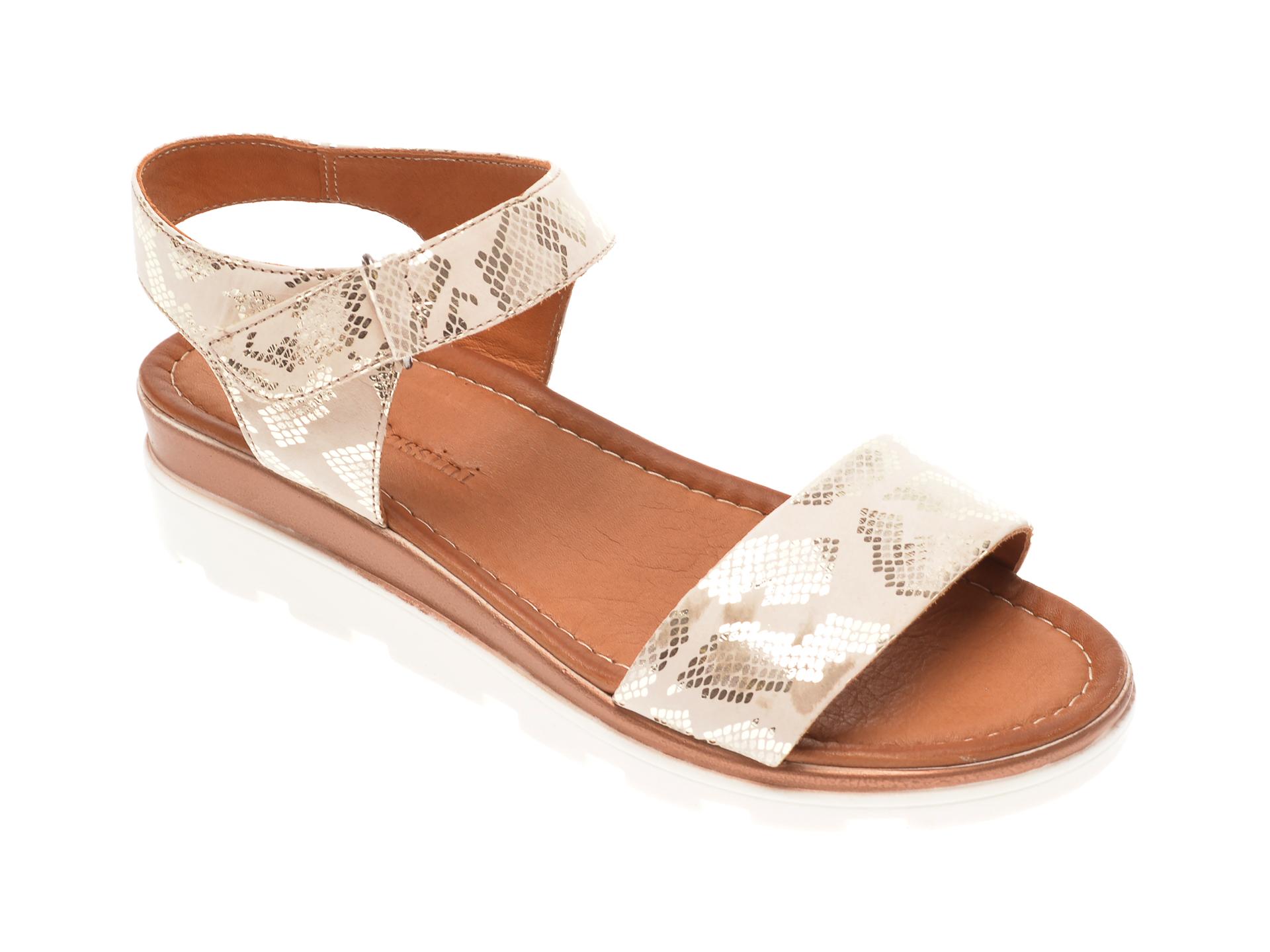 Sandale FLAVIA PASSINI bej, 1182728, din piele naturala New