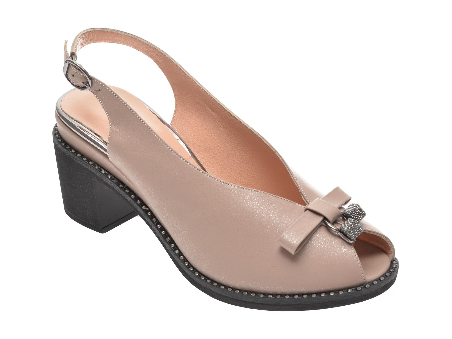 Sandale FLAVIA PASSINI bej, 285281, din piele naturala