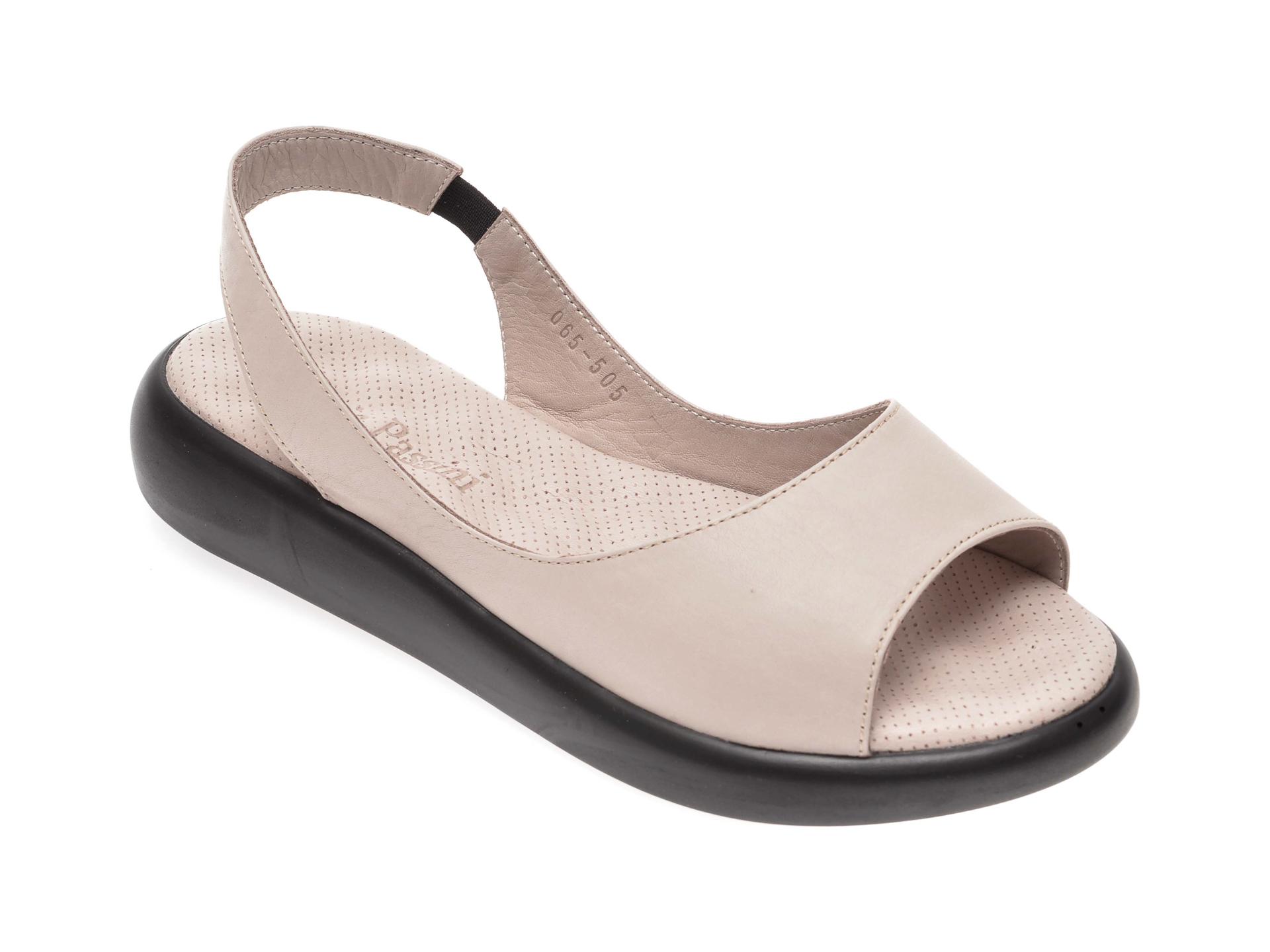Sandale FLAVIA PASSINI gri, 065505, din piele naturala