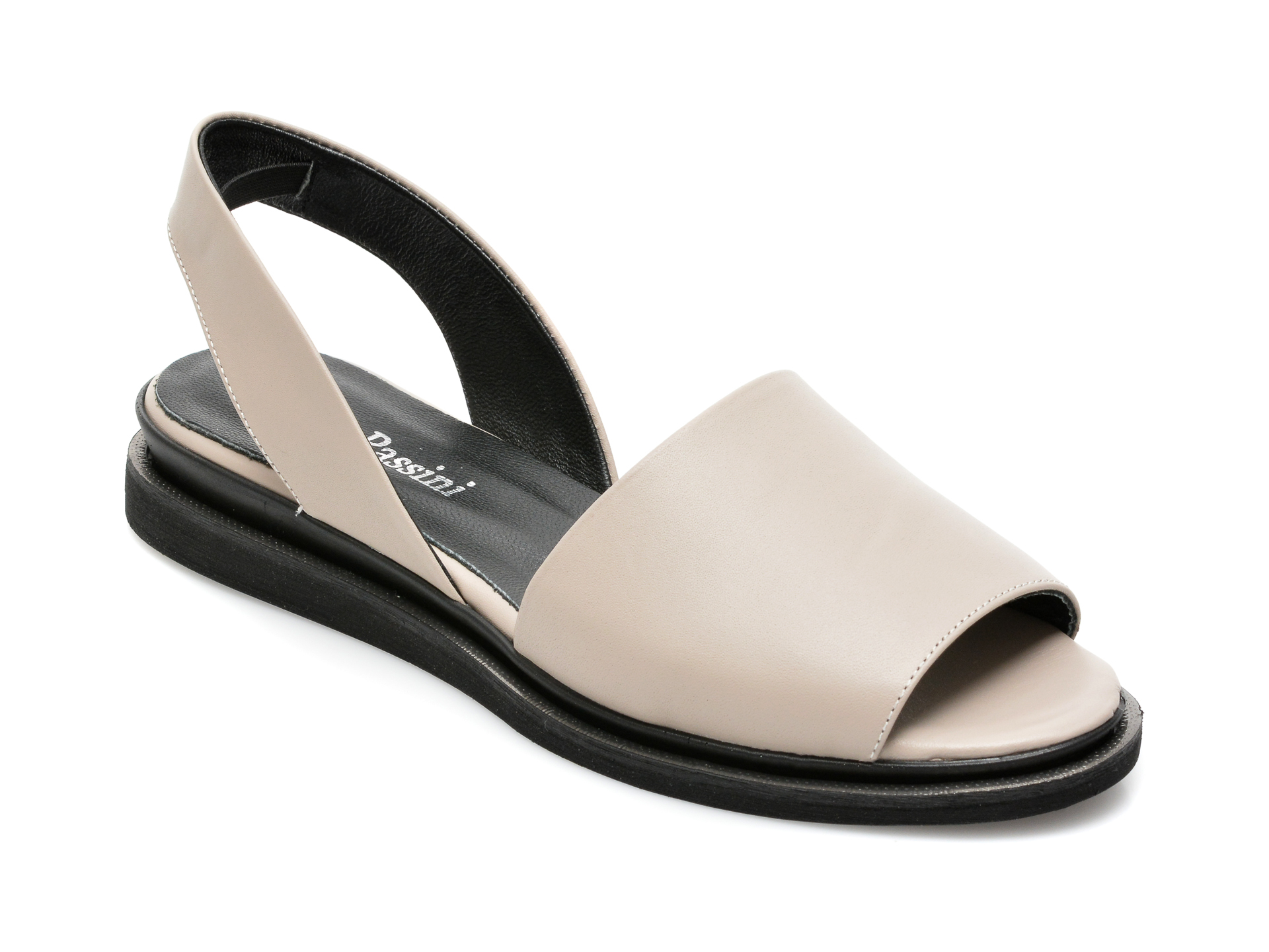 Sandale FLAVIA PASSINI gri, 1581051, din piele naturala imagine otter.ro 2021