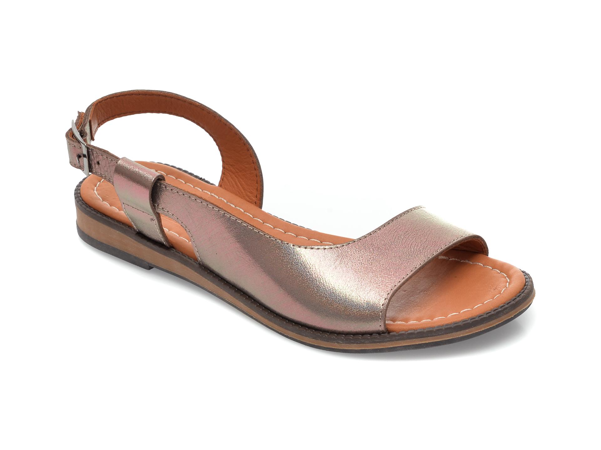 Sandale FLAVIA PASSINI gri, 21, din piele naturala imagine otter.ro 2021