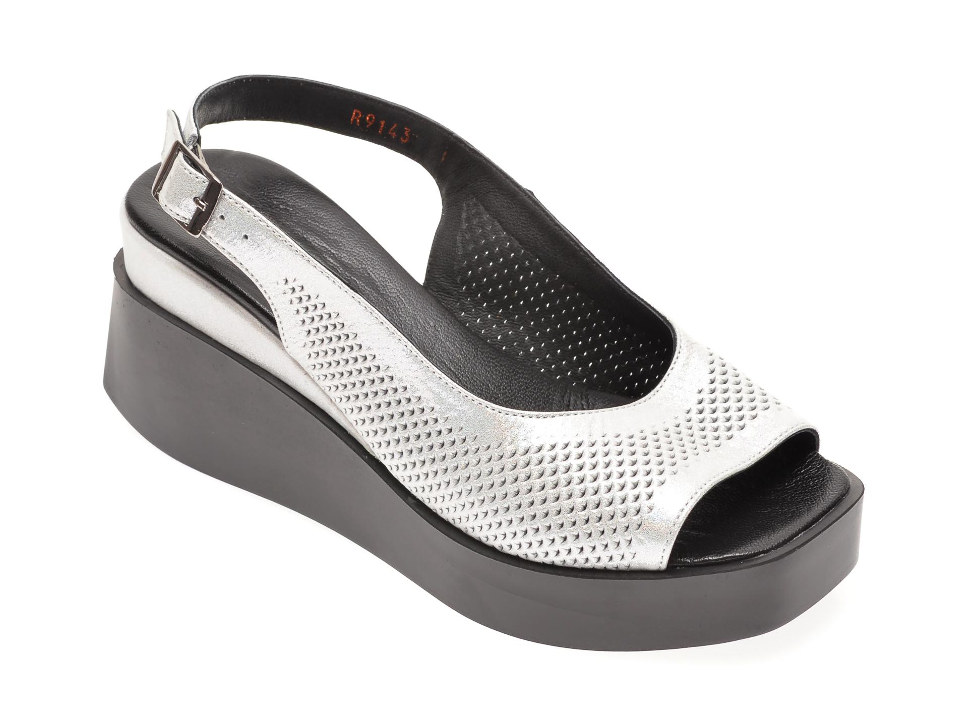 Sandale FLAVIA PASSINI gri, 604, din piele naturala