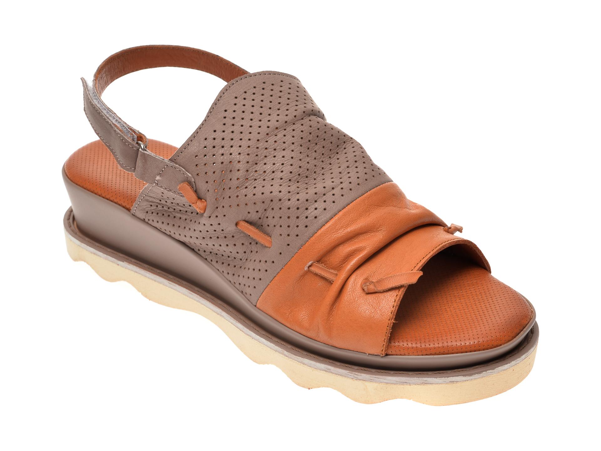 Sandale FLAVIA PASSINI maro, 0206, din piele naturala
