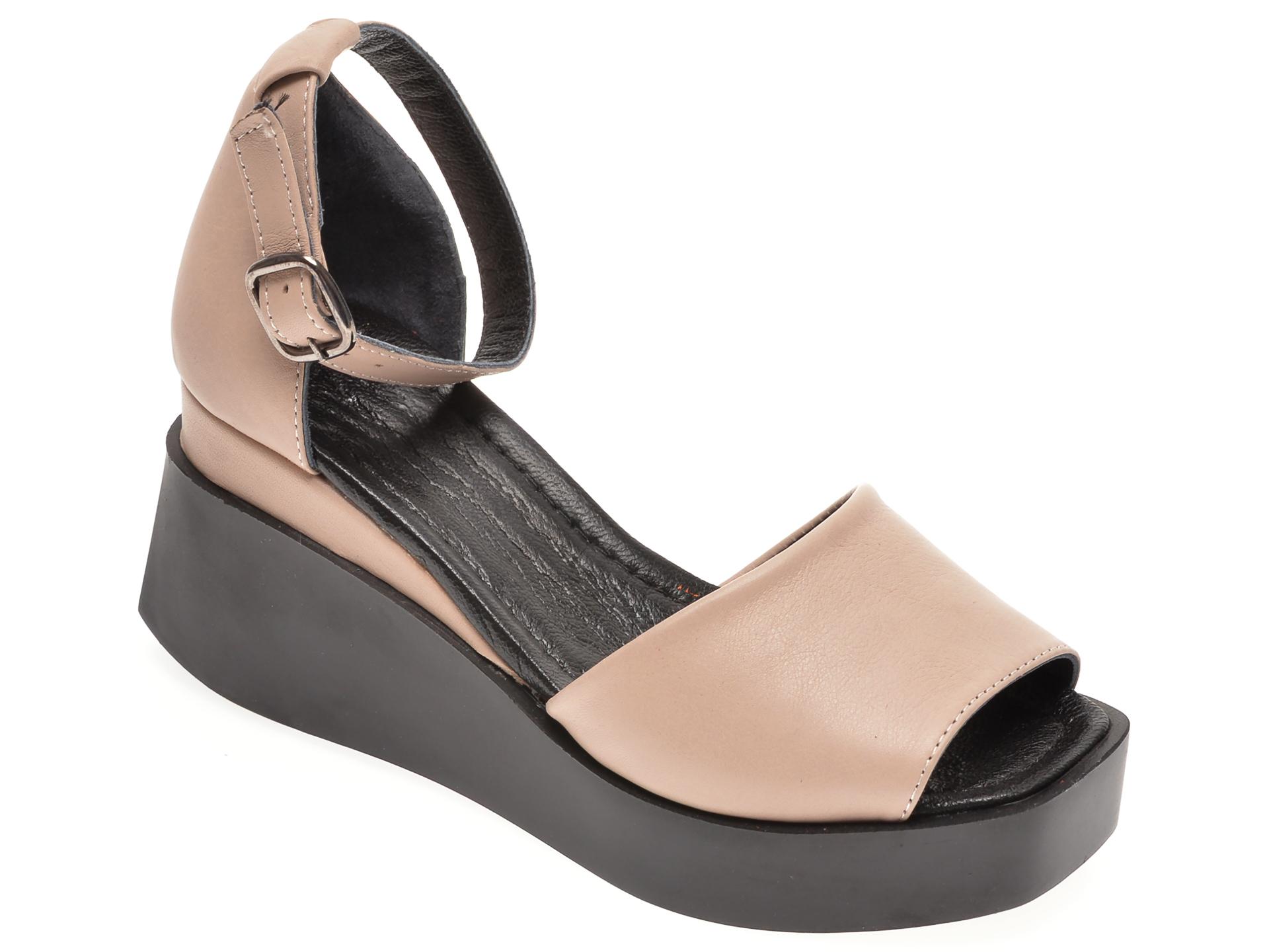Sandale FLAVIA PASSINI maro, 022624, din piele naturala