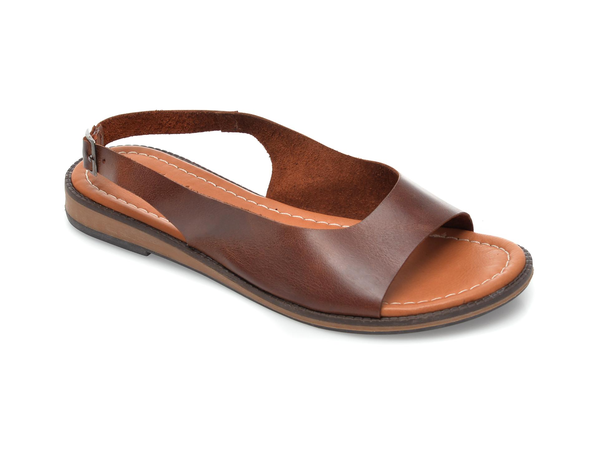 Sandale FLAVIA PASSINI maro, 103, din piele naturala imagine otter.ro 2021
