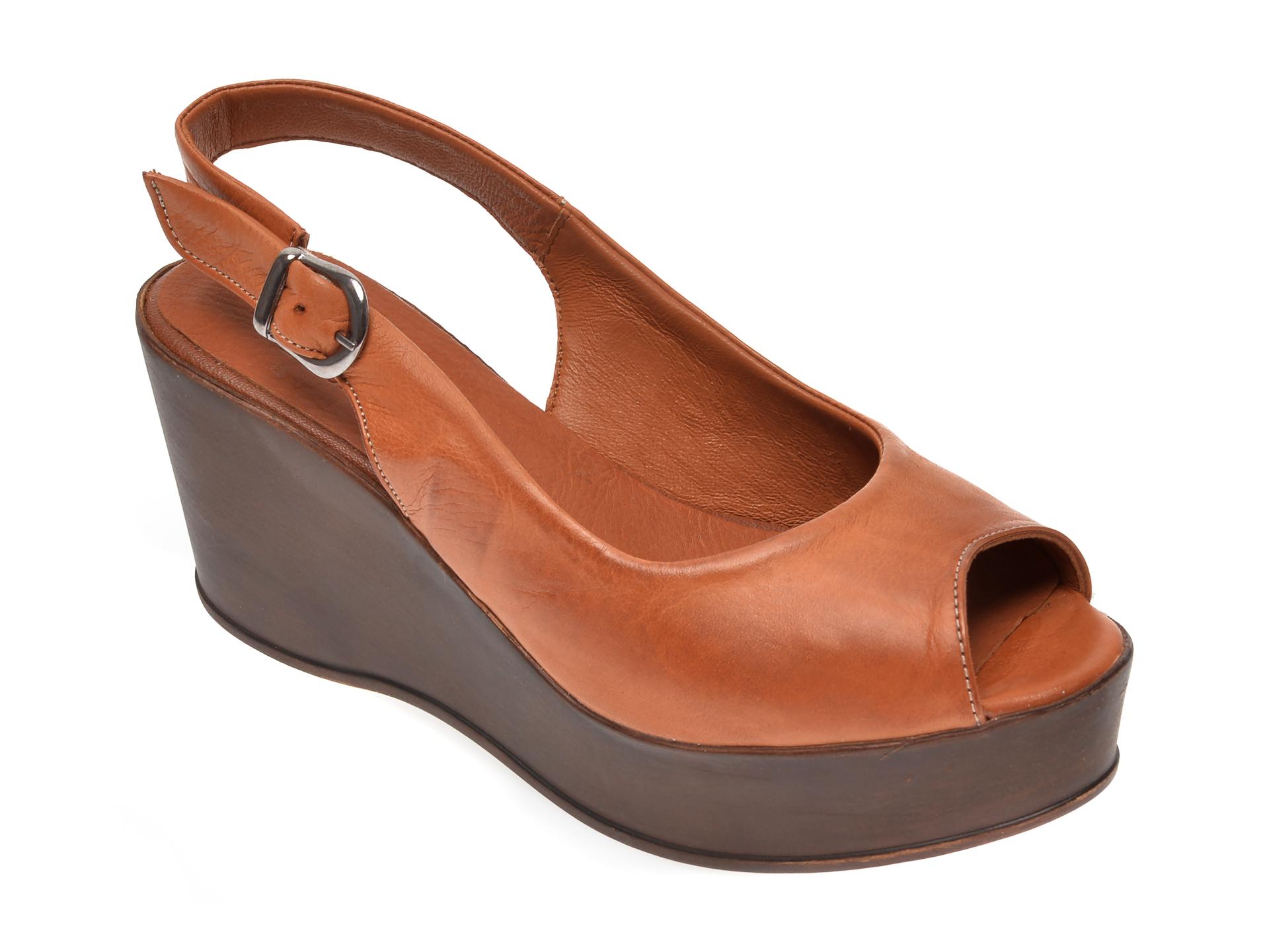 Sandale FLAVIA PASSINI maro, 1110, din piele naturala