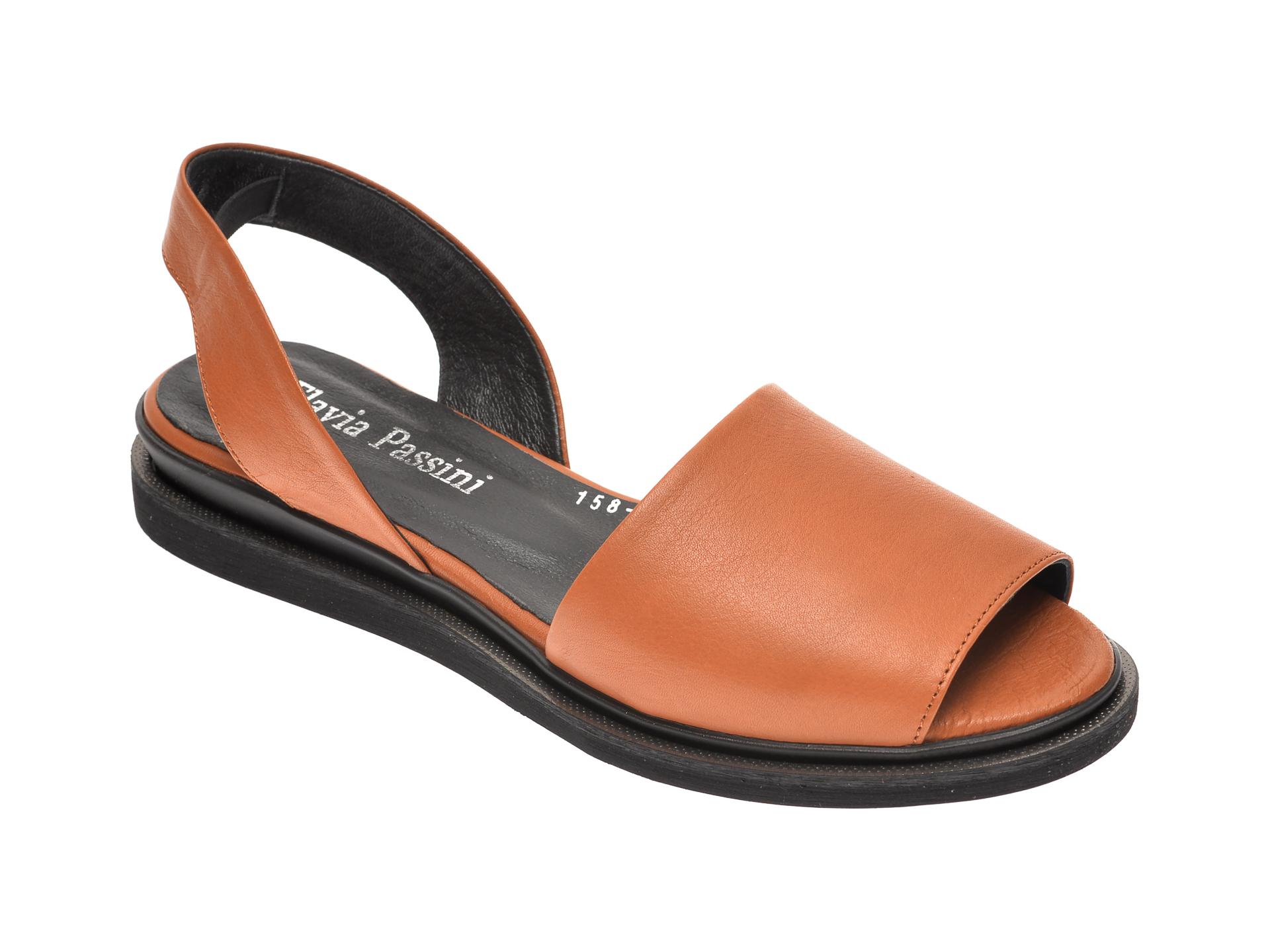 Sandale FLAVIA PASSINI maro, 1581051, din piele naturala New