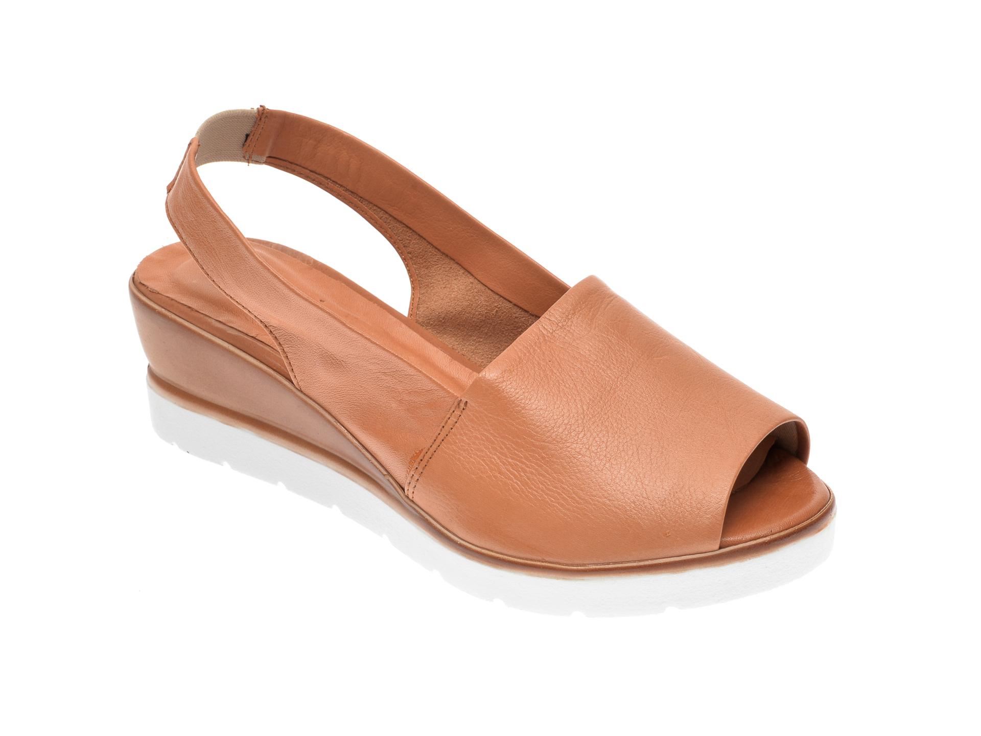 Sandale FLAVIA PASSINI maro, 2103, din piele naturala