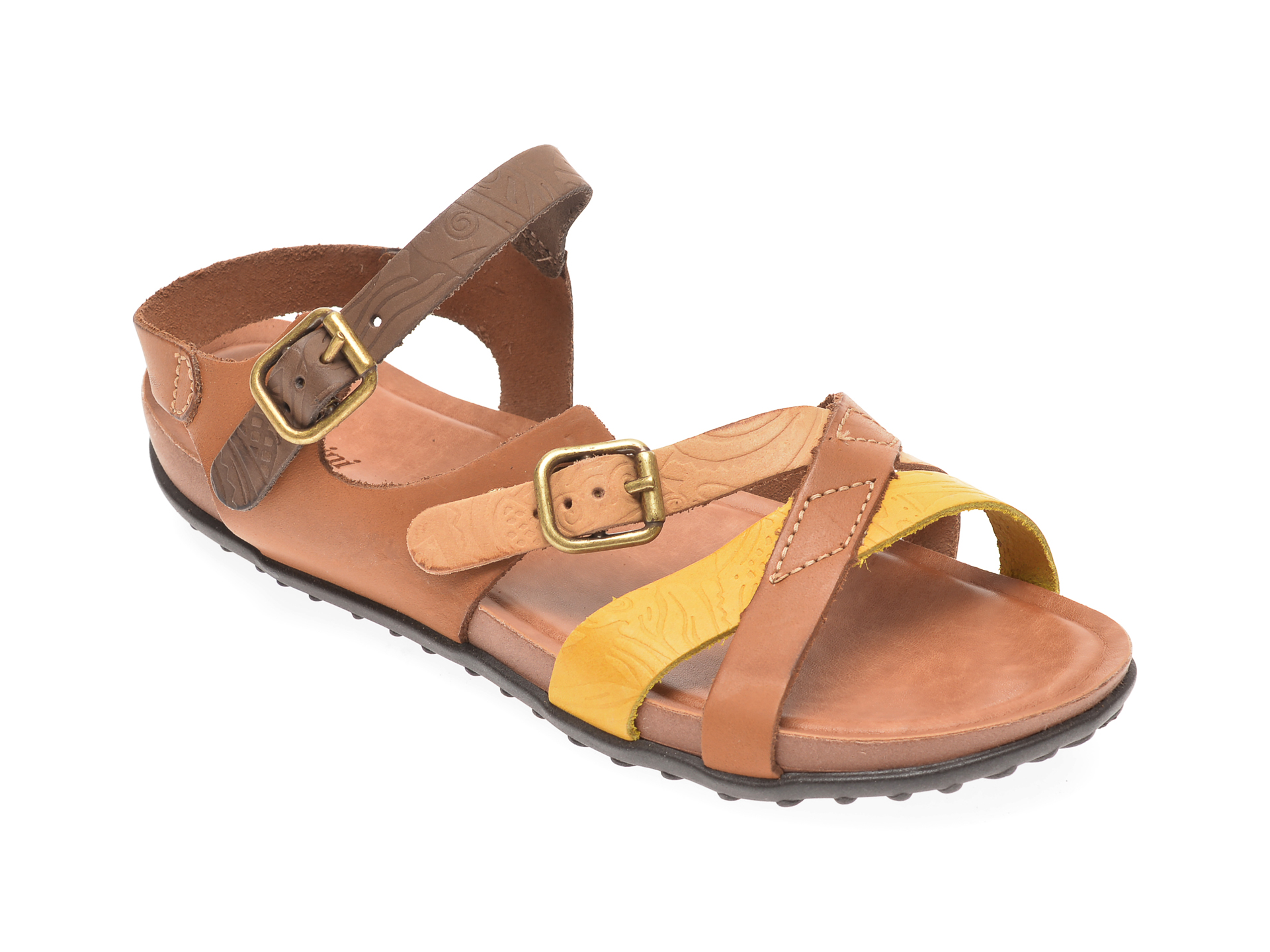 Sandale FLAVIA PASSINI maro, 36706, din piele naturala