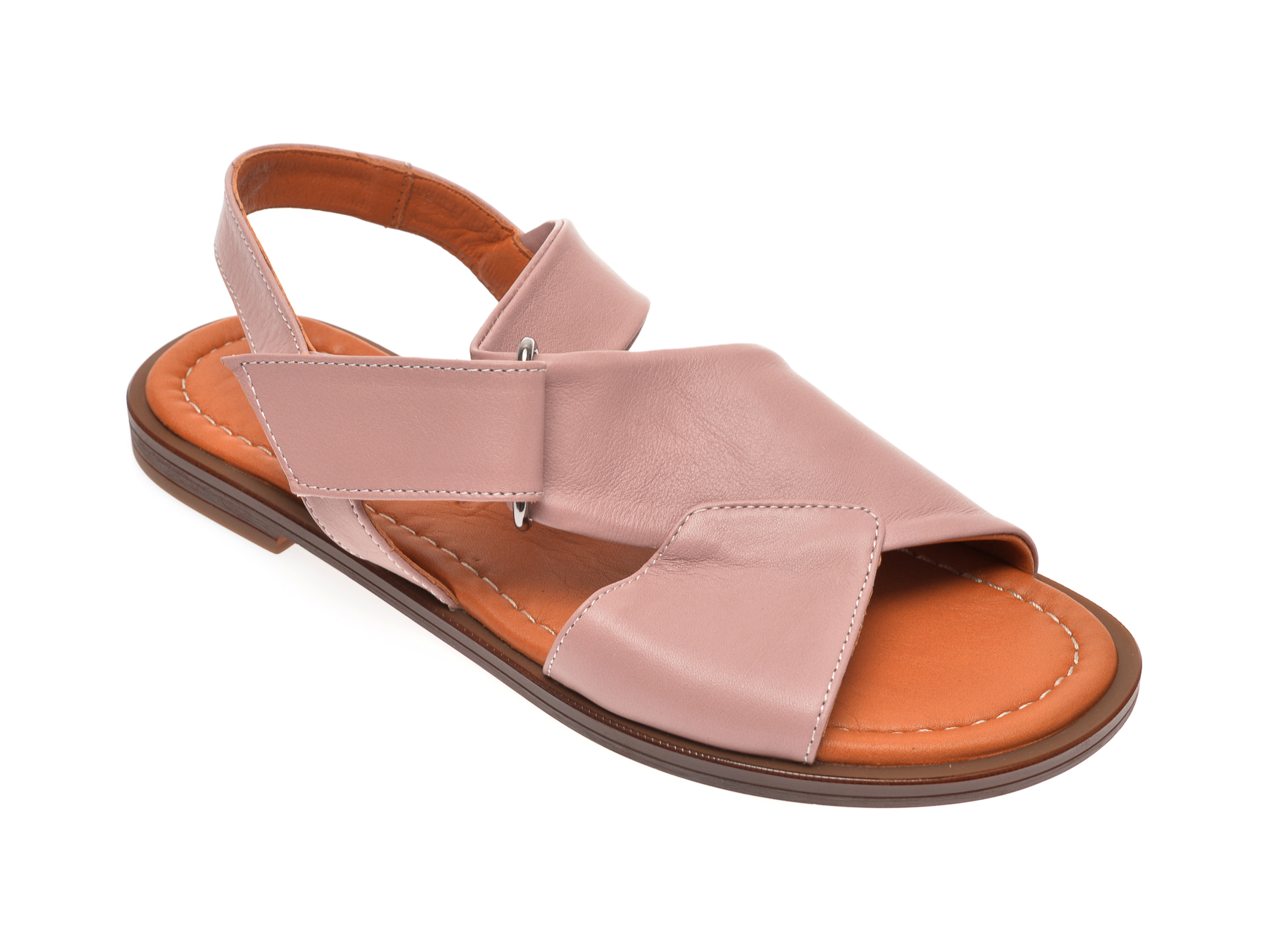 Sandale FLAVIA PASSINI mov, 0021673, din piele naturala