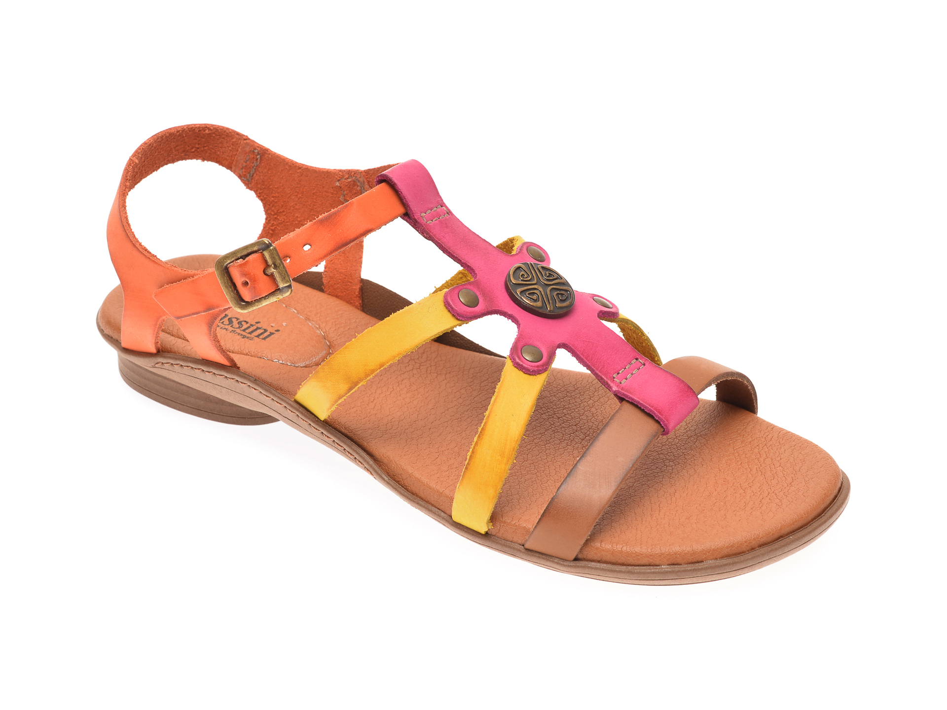 Sandale FLAVIA PASSINI multicolor, 37306, din piele naturala