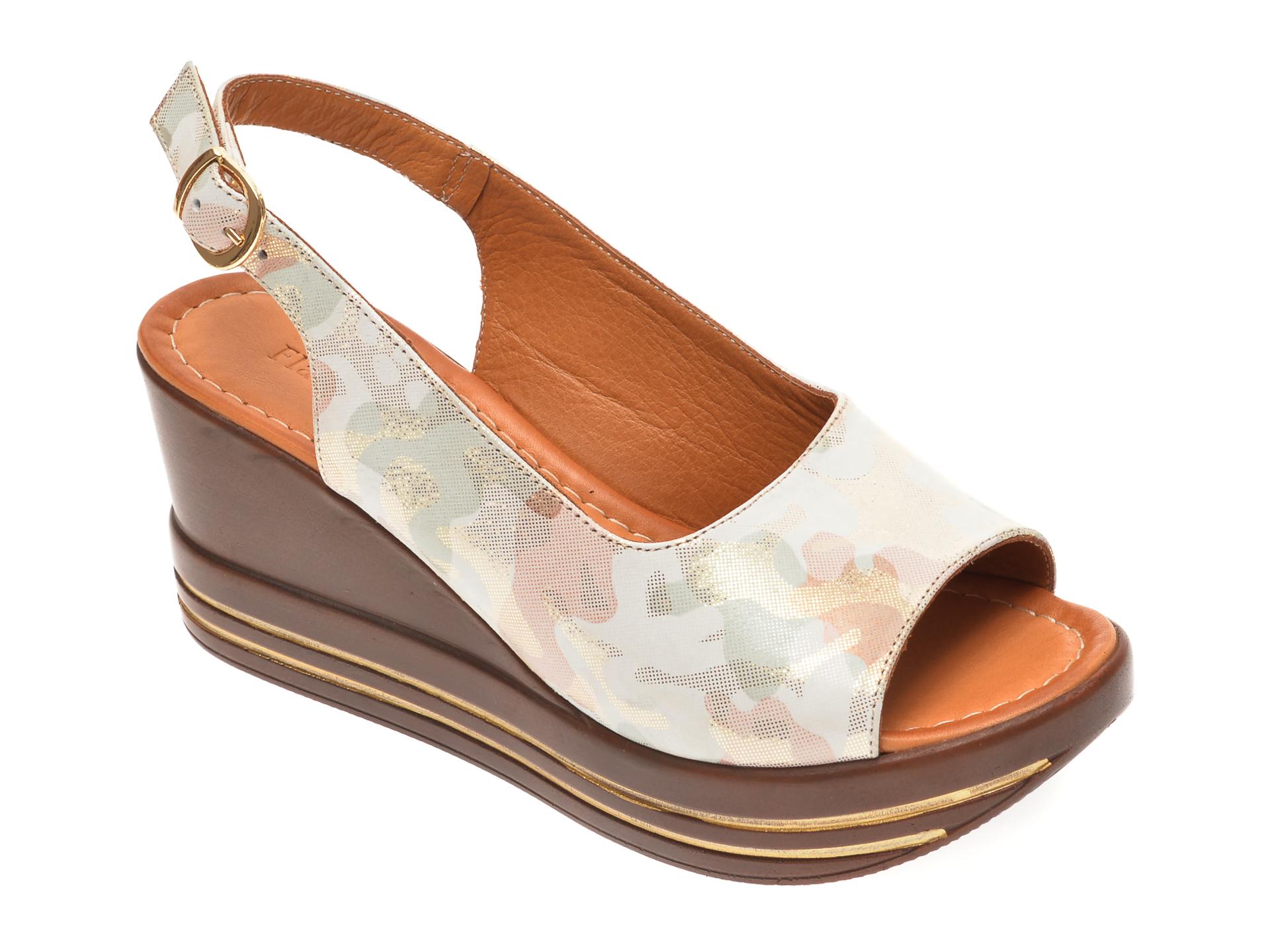 Sandale FLAVIA PASSINI multicolore, 1182724, din piele naturala